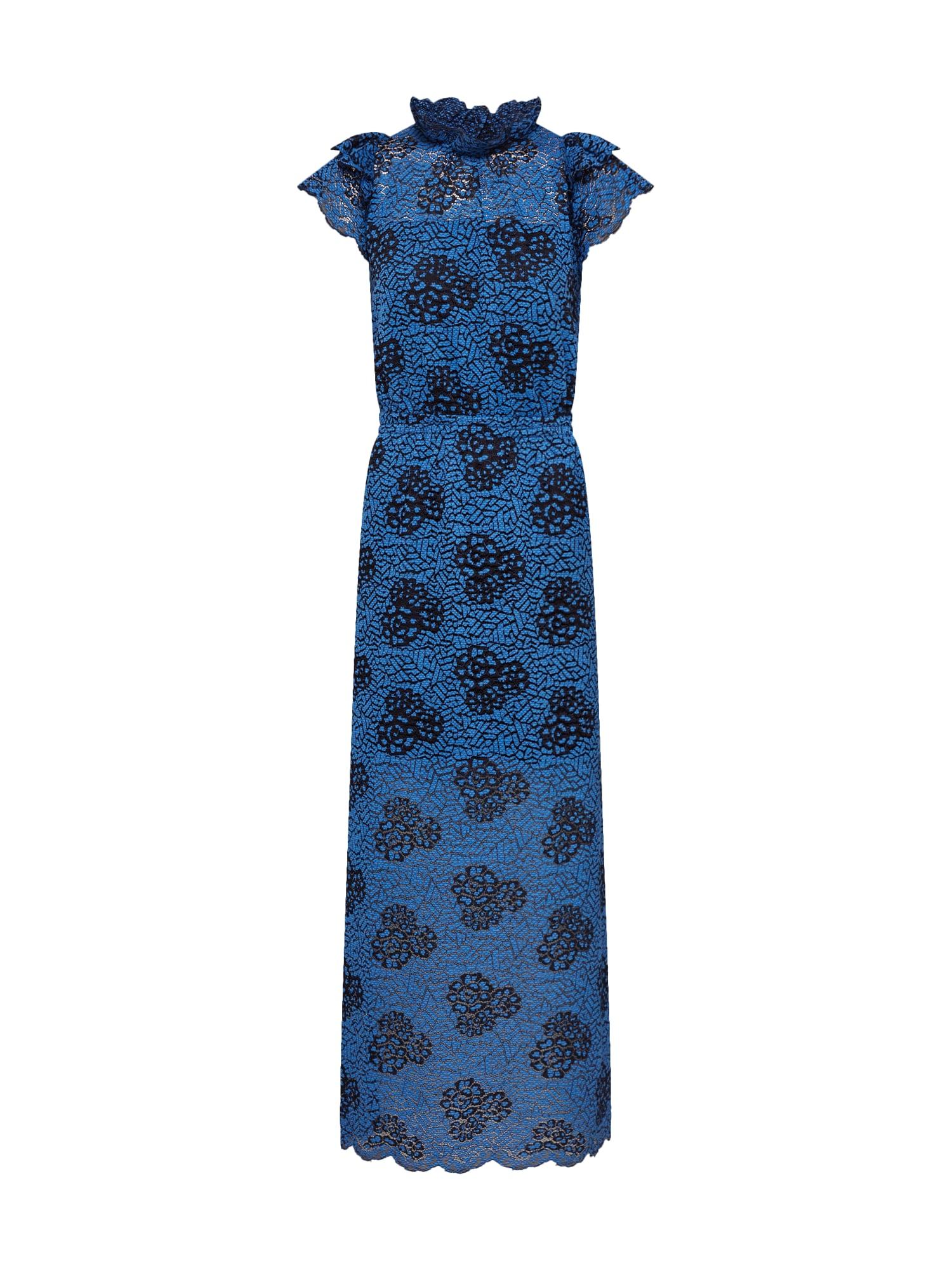 Designers Remix Sukienka koktajlowa 'Veronica Long'  niebieski / czarny