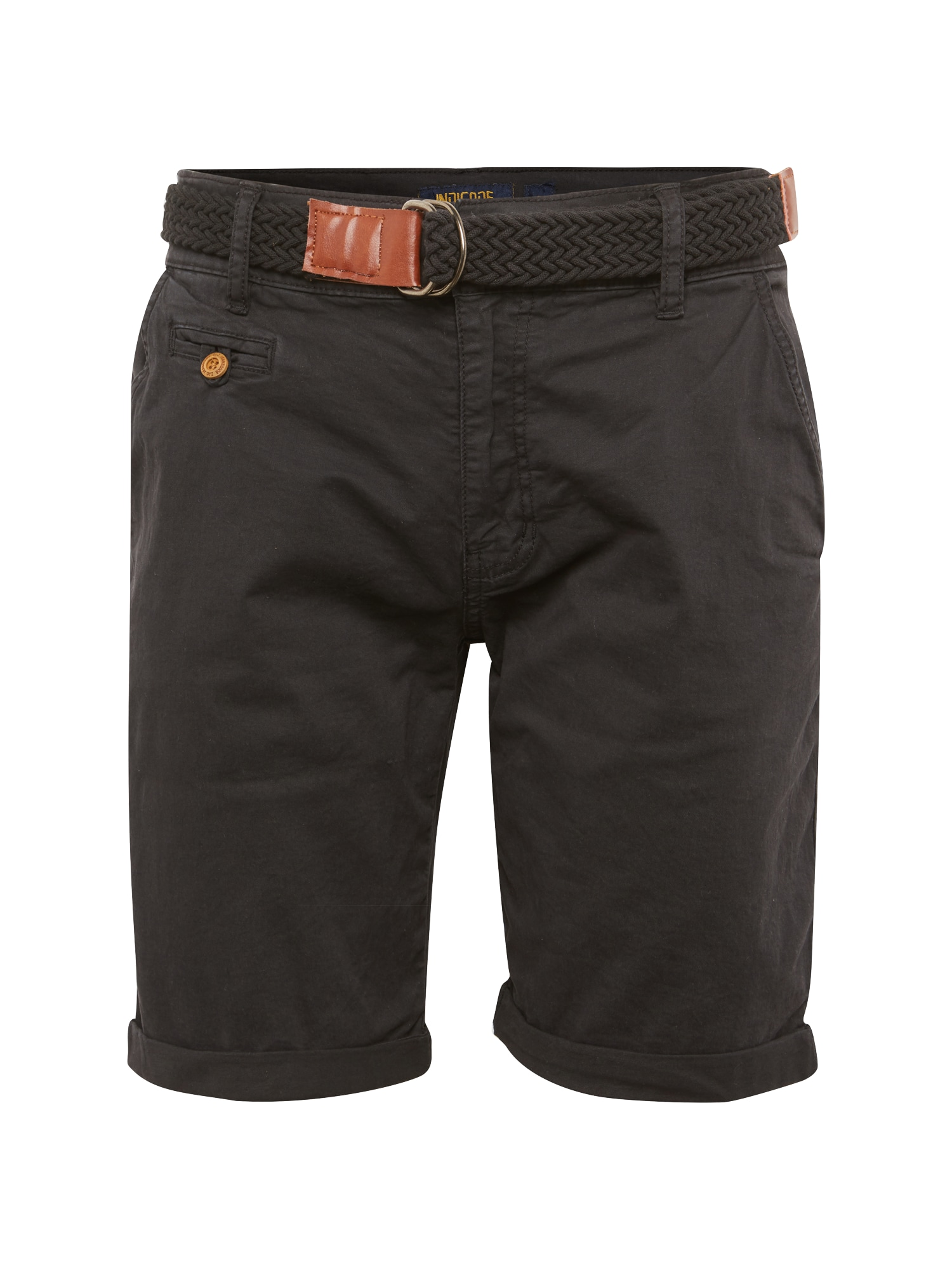 Chino kalhoty Conor antracitová INDICODE JEANS