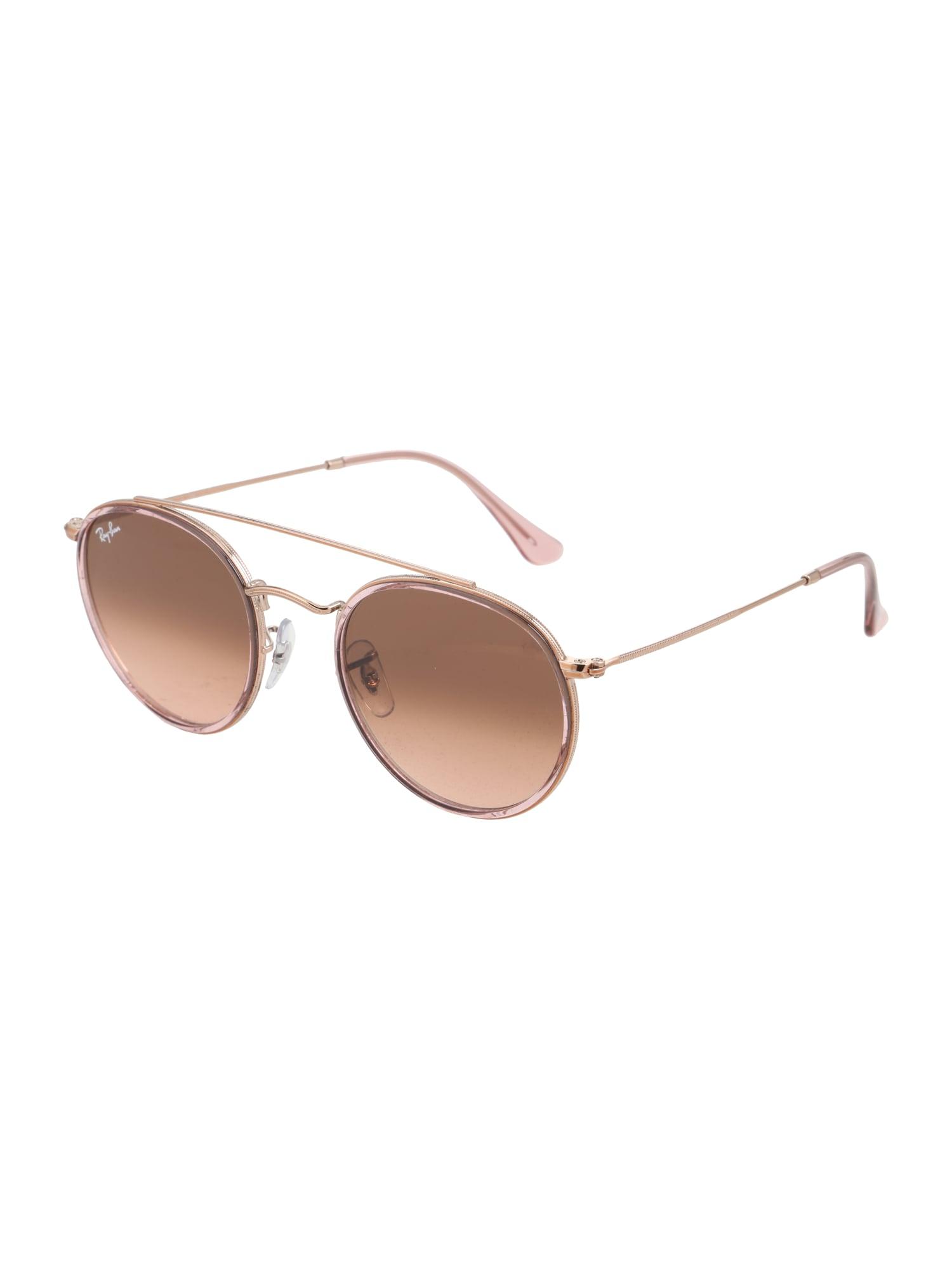 Sluneční brýle hnědá růžová Ray-Ban
