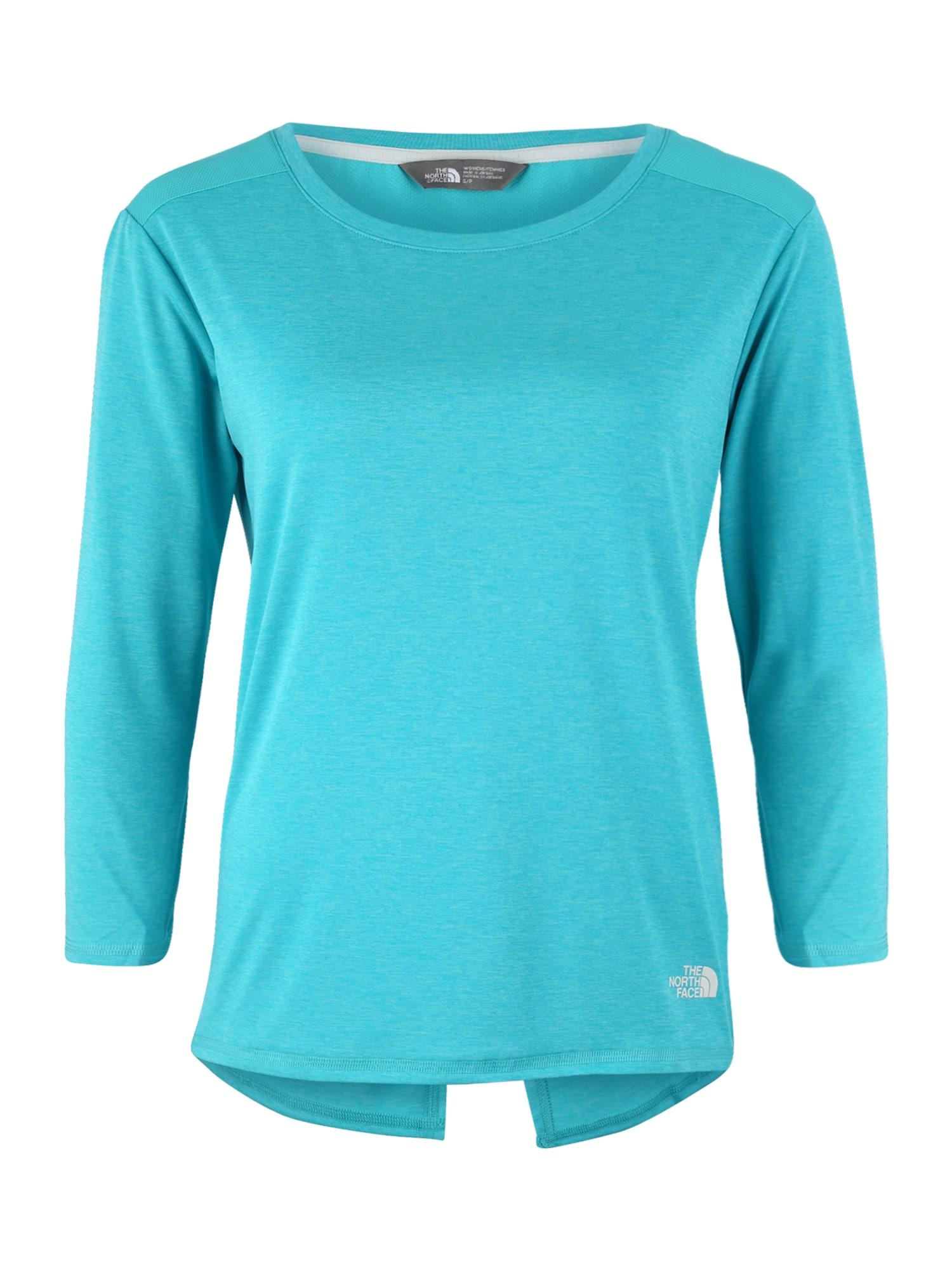 Funkční tričko INLUX aqua modrá THE NORTH FACE