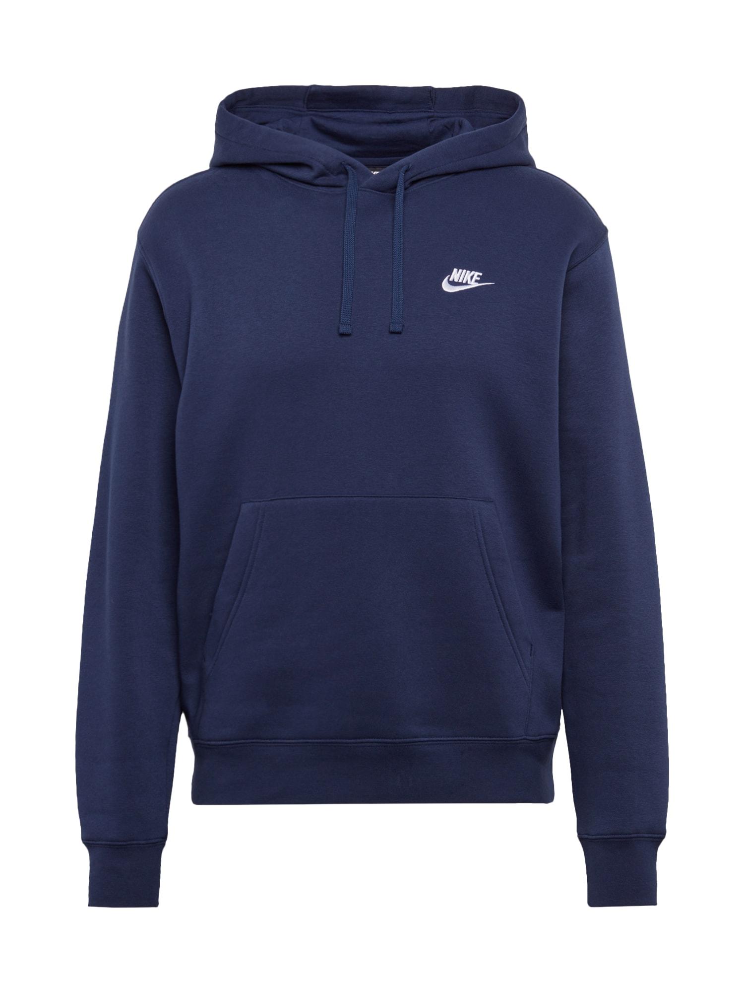 Mikina Club tmavě modrá Nike Sportswear