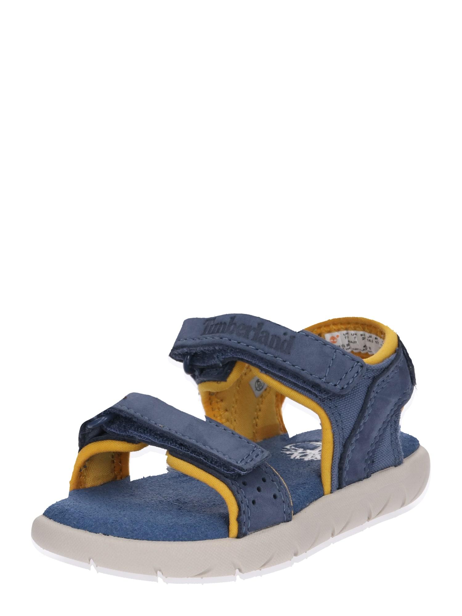Otevřená obuv Nubble LF 2 Strap Sandal modrá TIMBERLAND