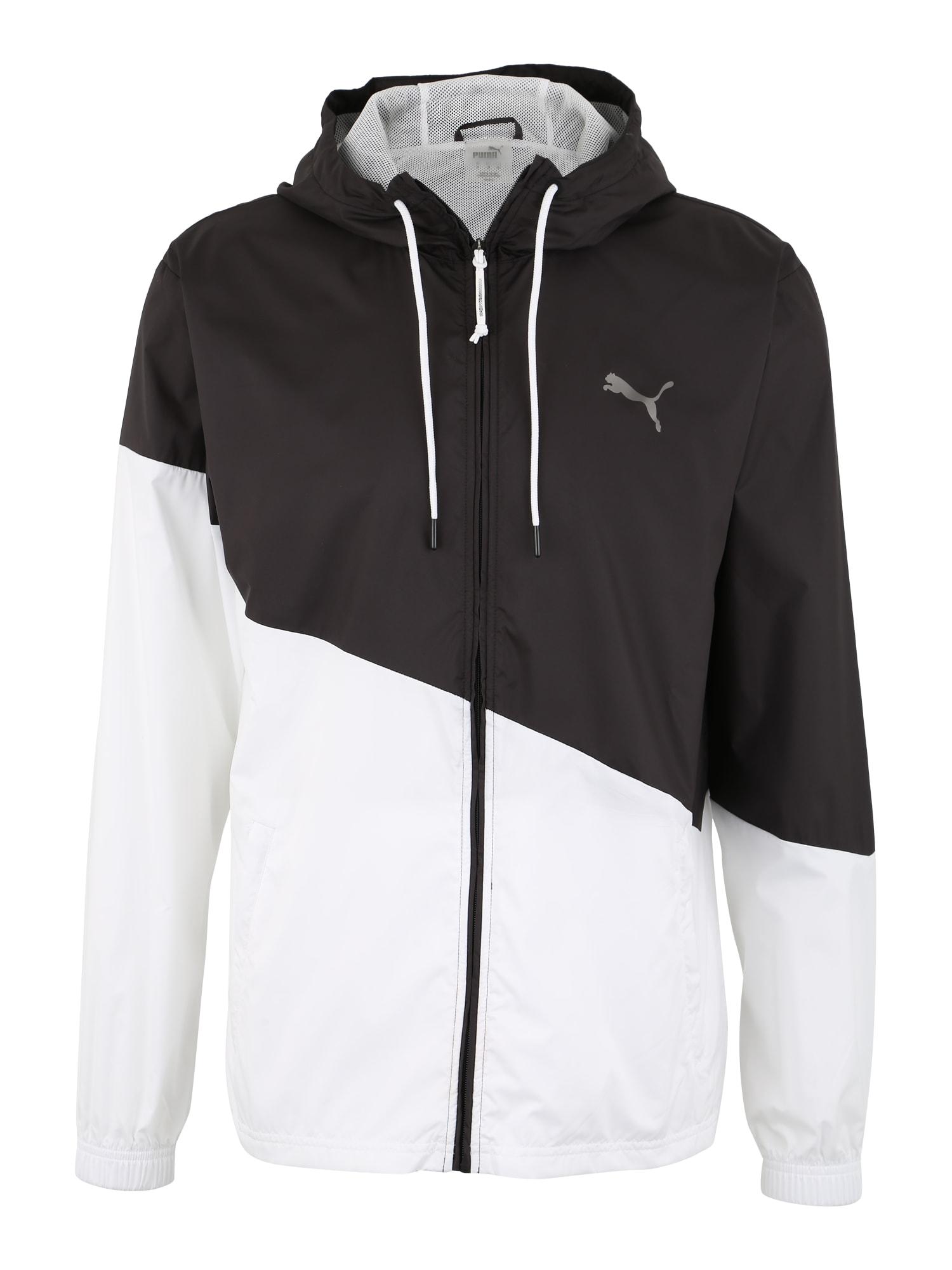 Sportovní bunda A.C.E. černá bílá PUMA
