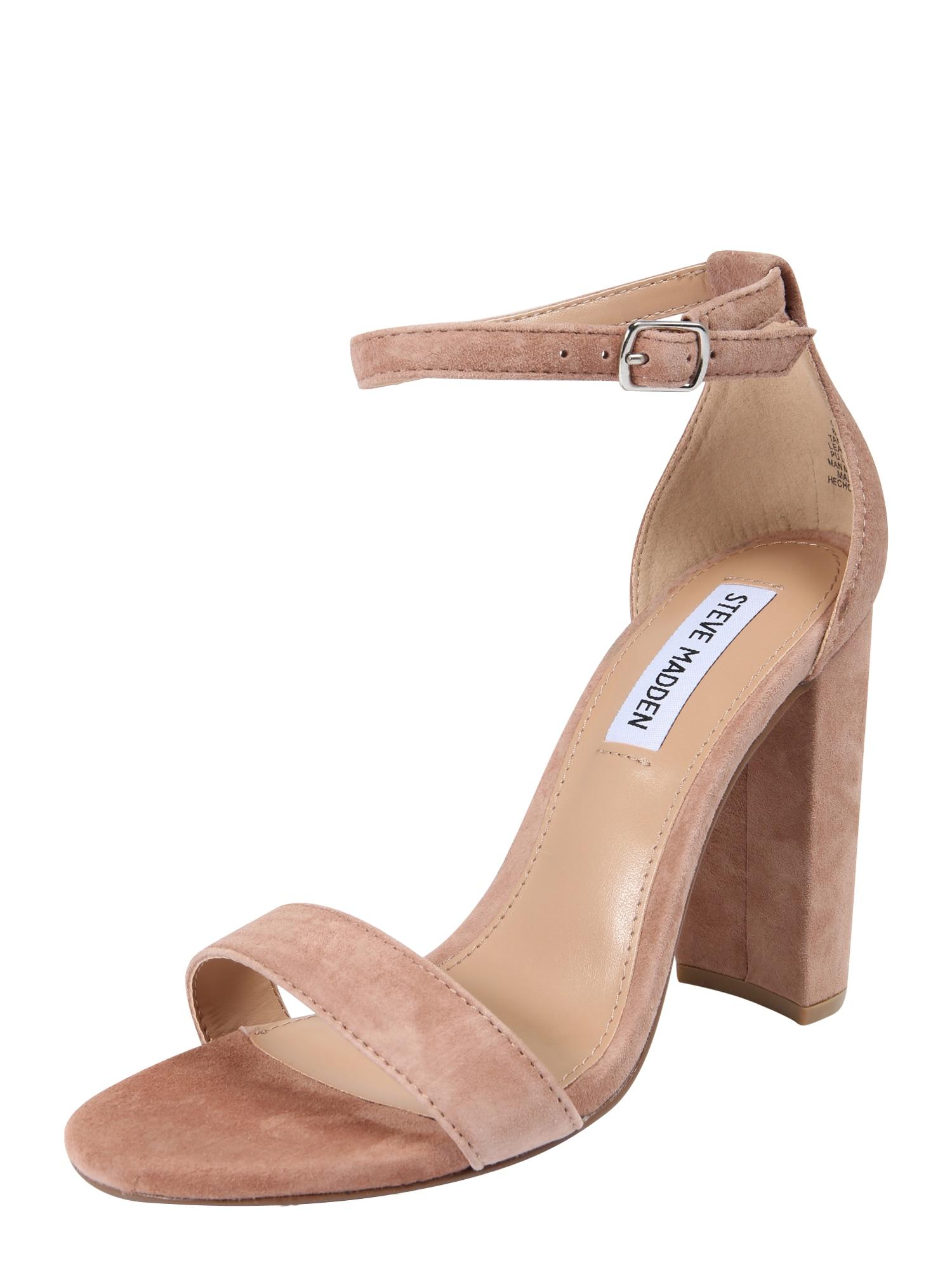 Páskové sandály Carrson pudrová STEVE MADDEN