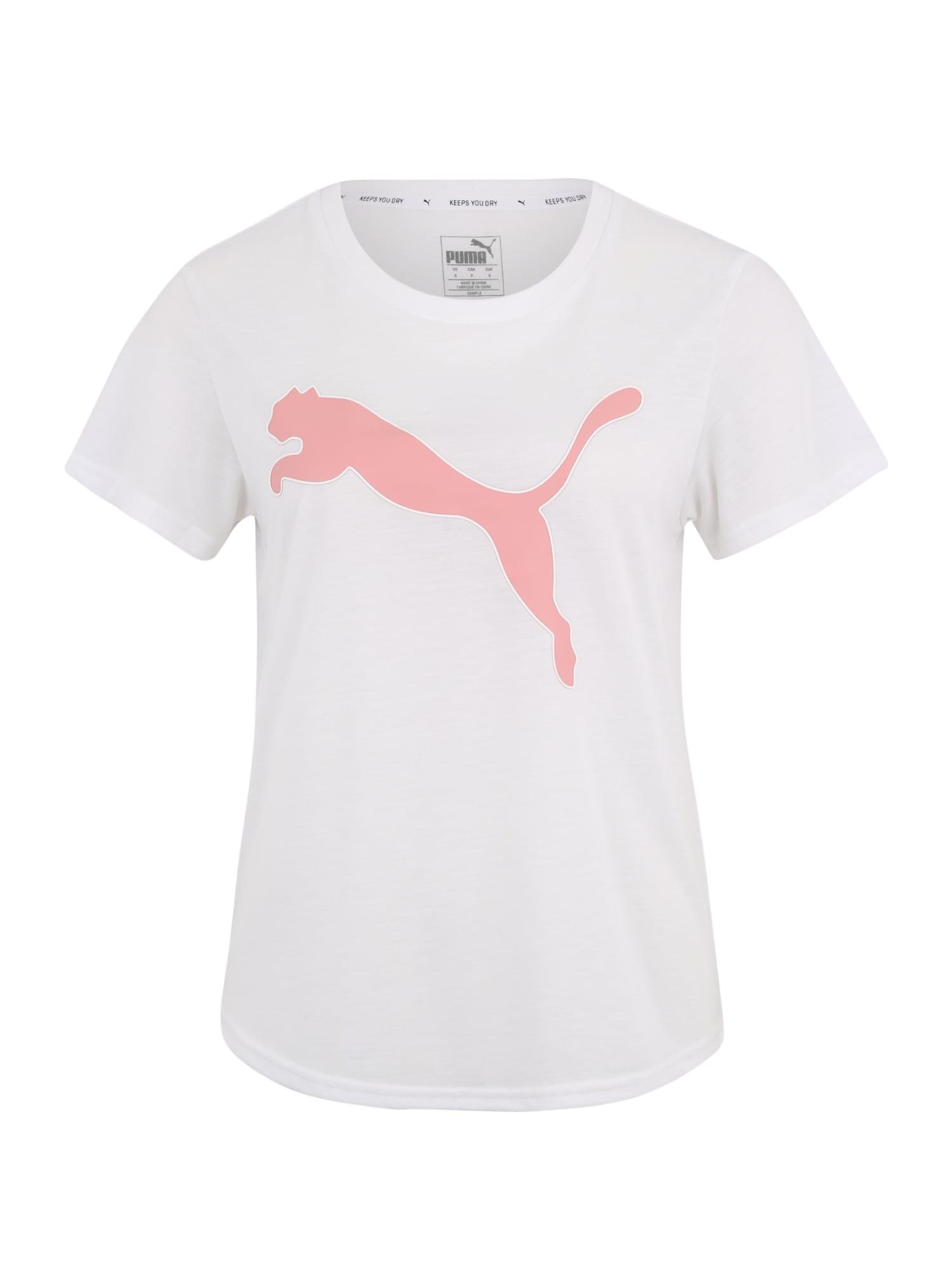 Funkční tričko EVOSTRIPE Tee růžová bílá PUMA
