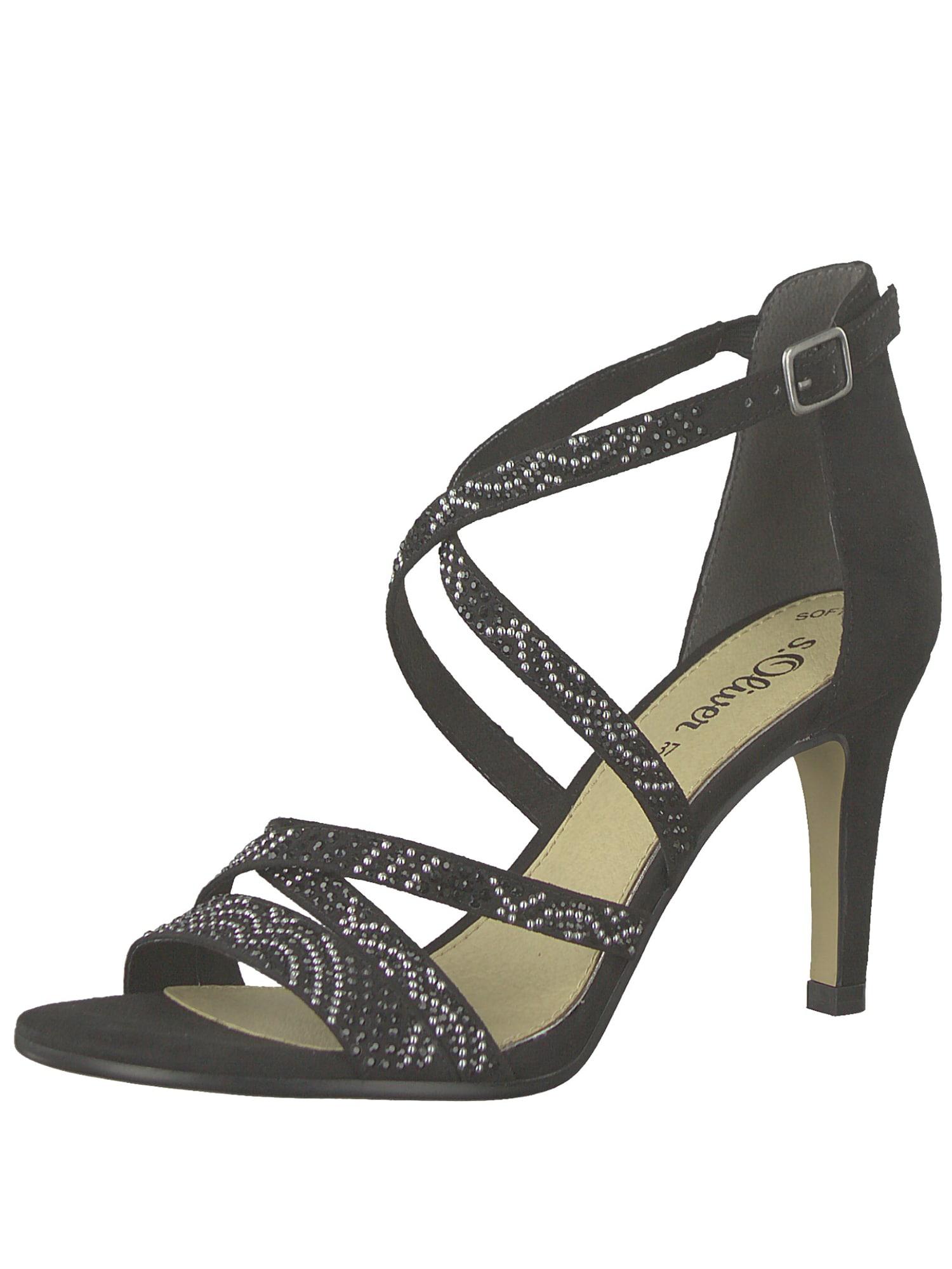 Páskové sandály černá S.Oliver RED LABEL