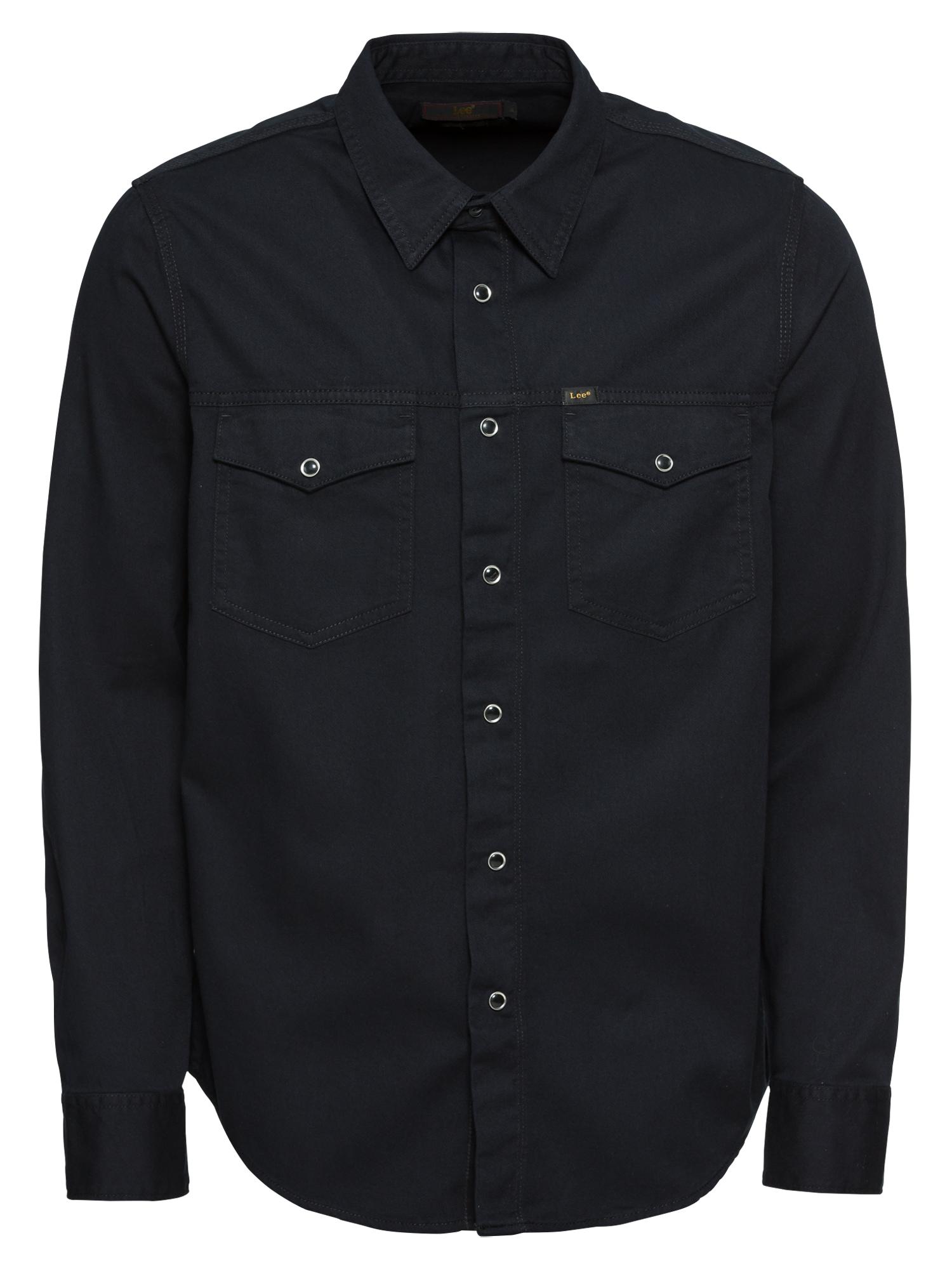 Košile WORKER WESTERN černá Lee