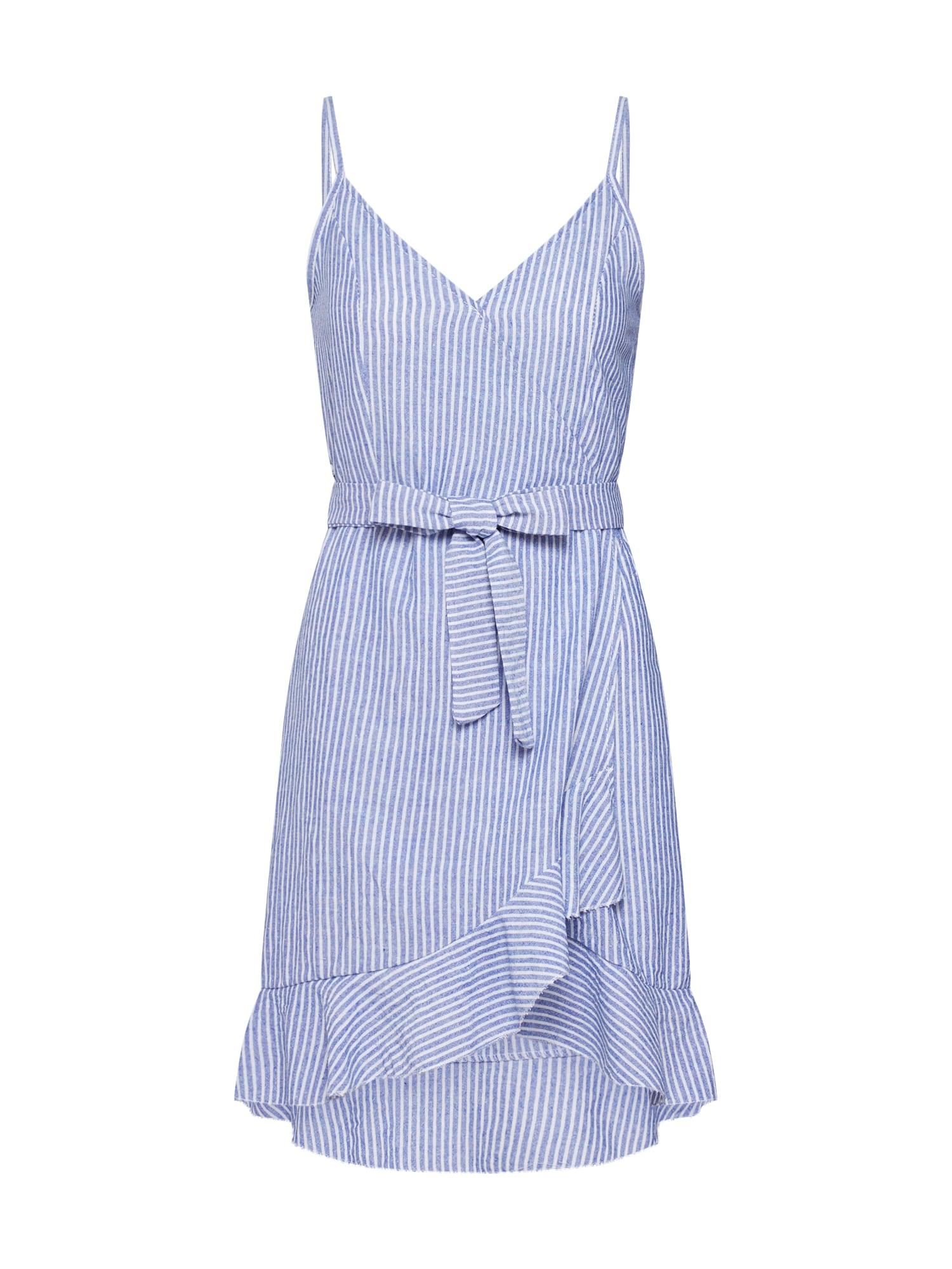 Letní šaty Evie modrá bílá Hailys