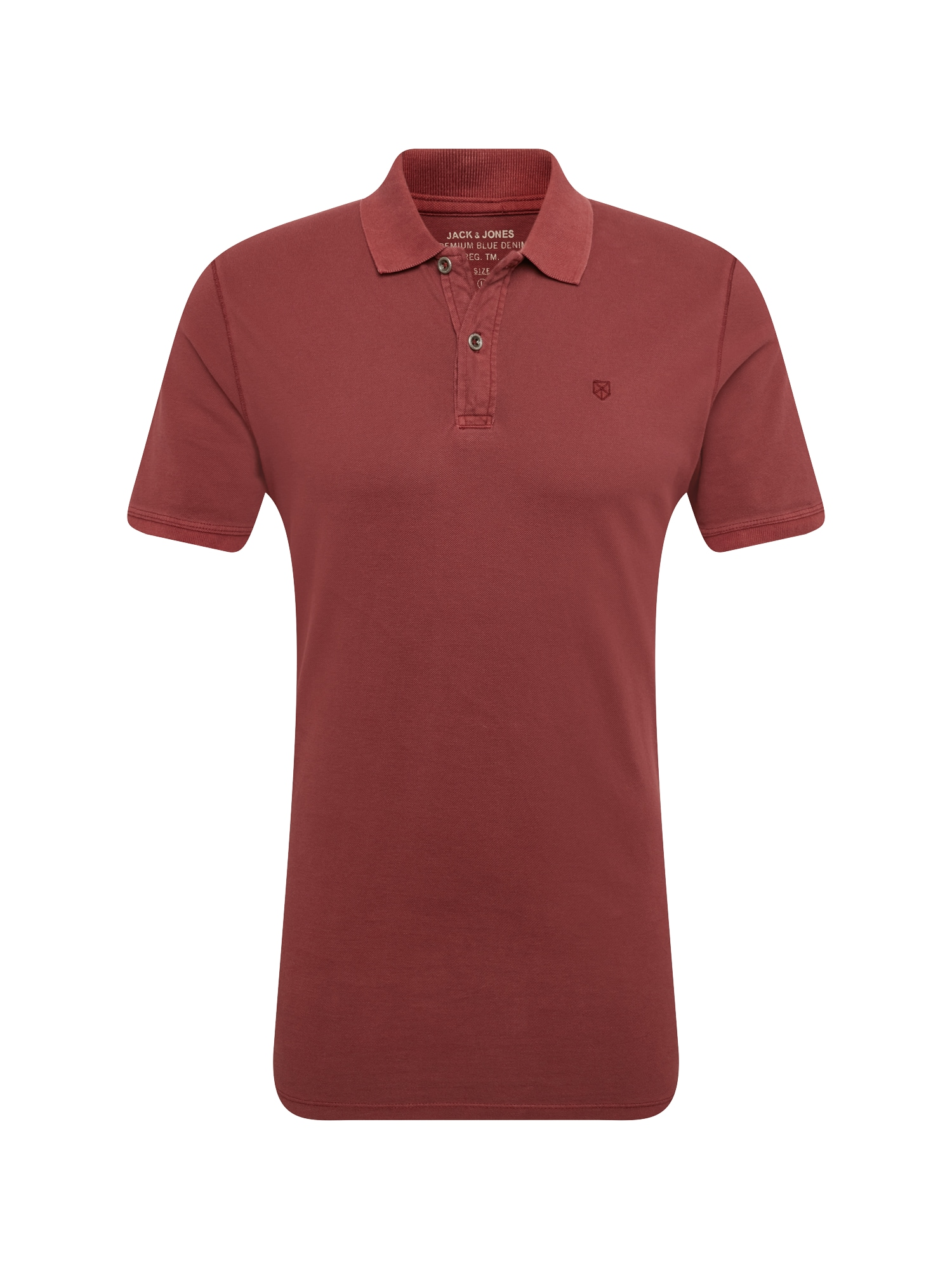 Tričko pastelově červená JACK & JONES