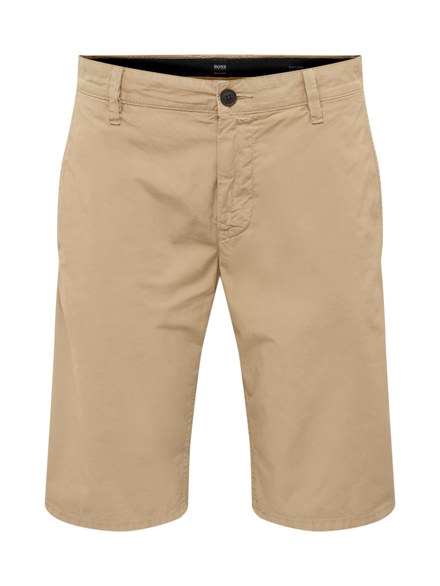 Chino kalhoty béžová BOSS