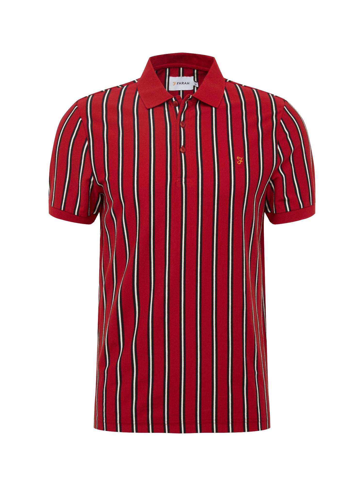 Tričko ALTHAM SS červená FARAH