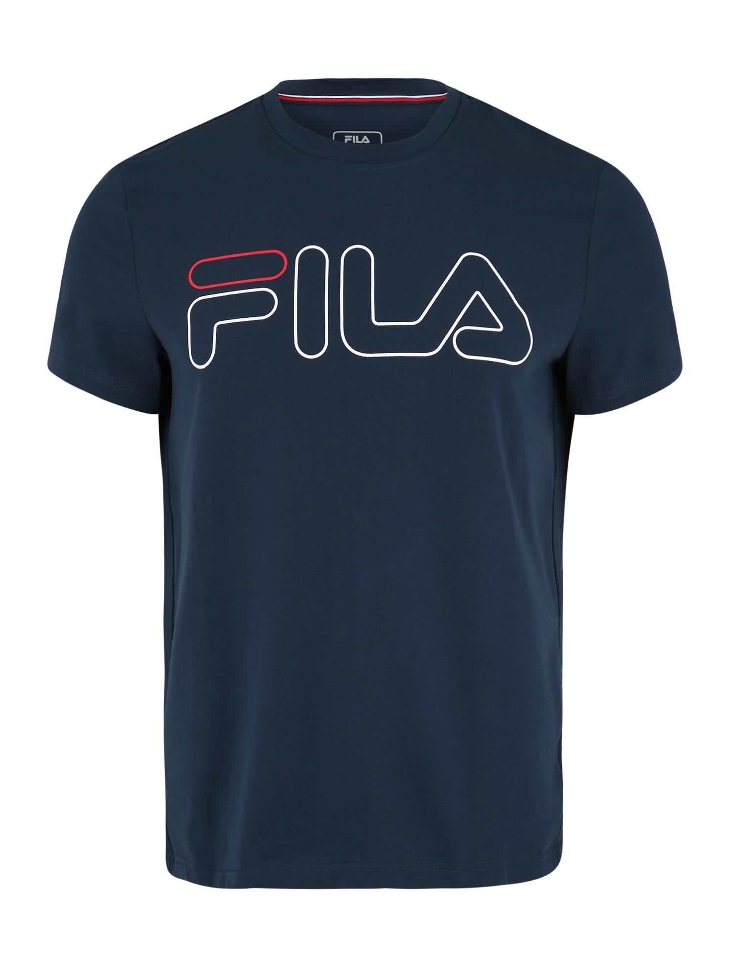 Funkční tričko Ricki tmavě modrá červená bílá FILA