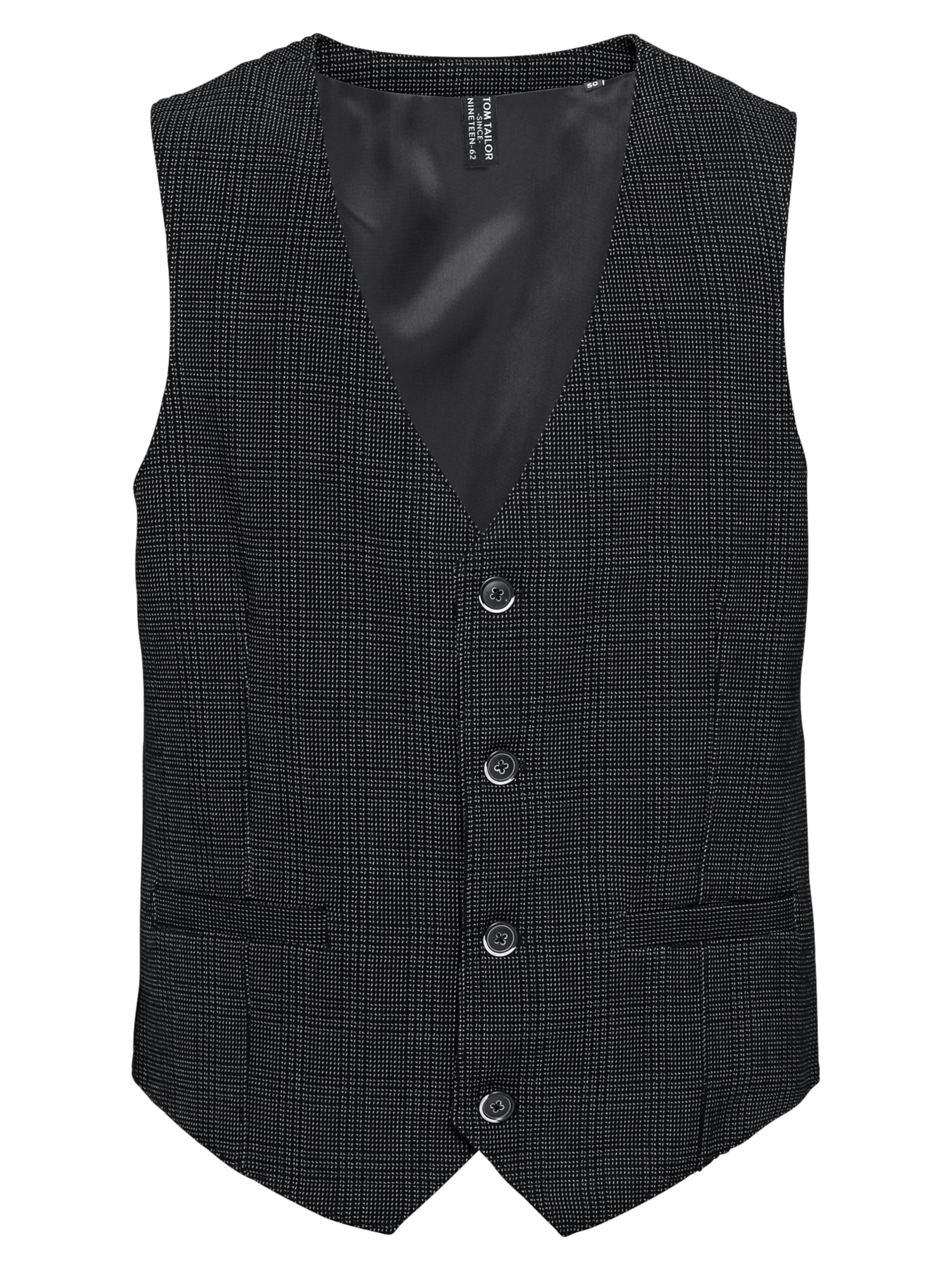 Image of Weste ´structure pattern vest´
