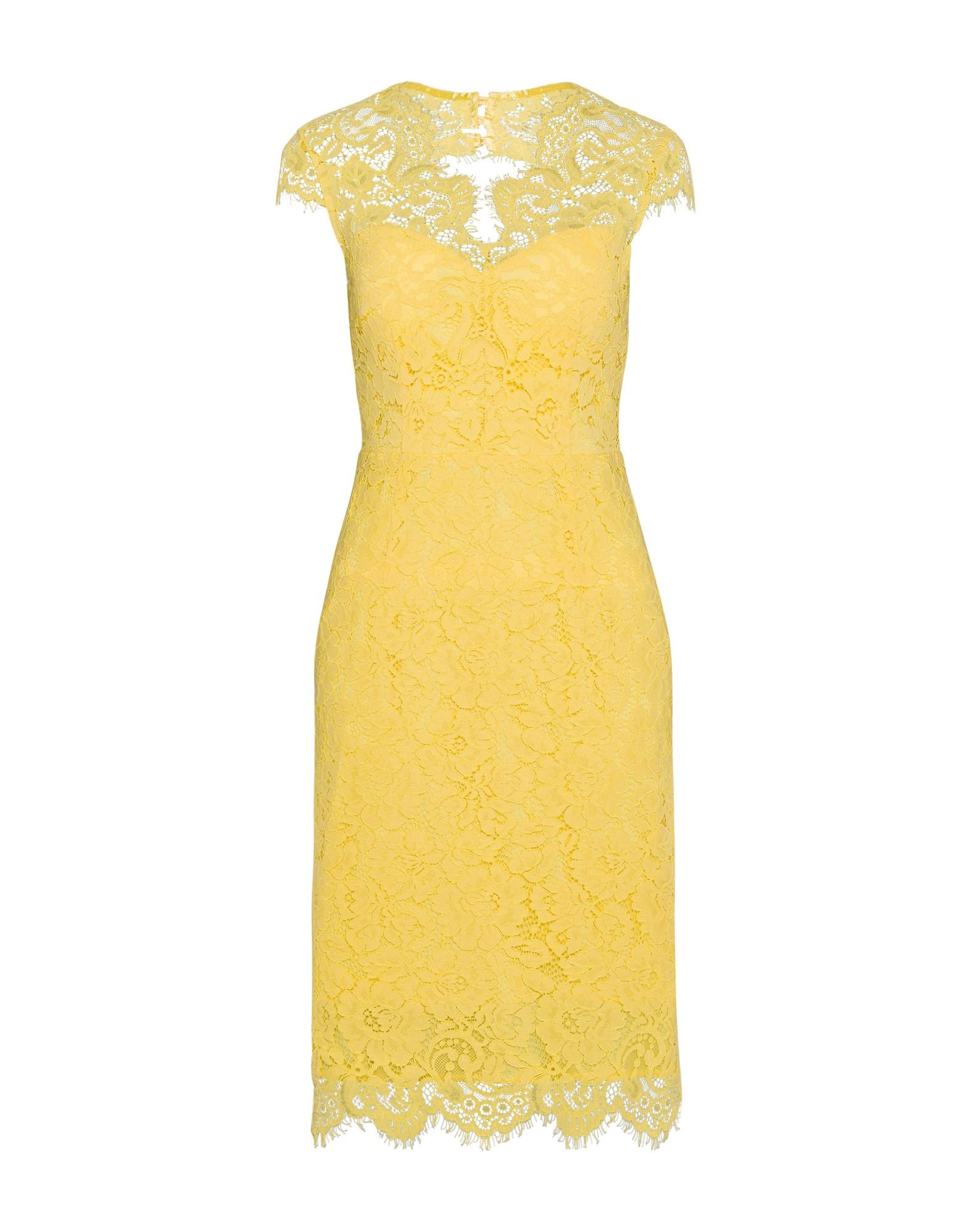 Koktejlové šaty žlutá IVY & OAK