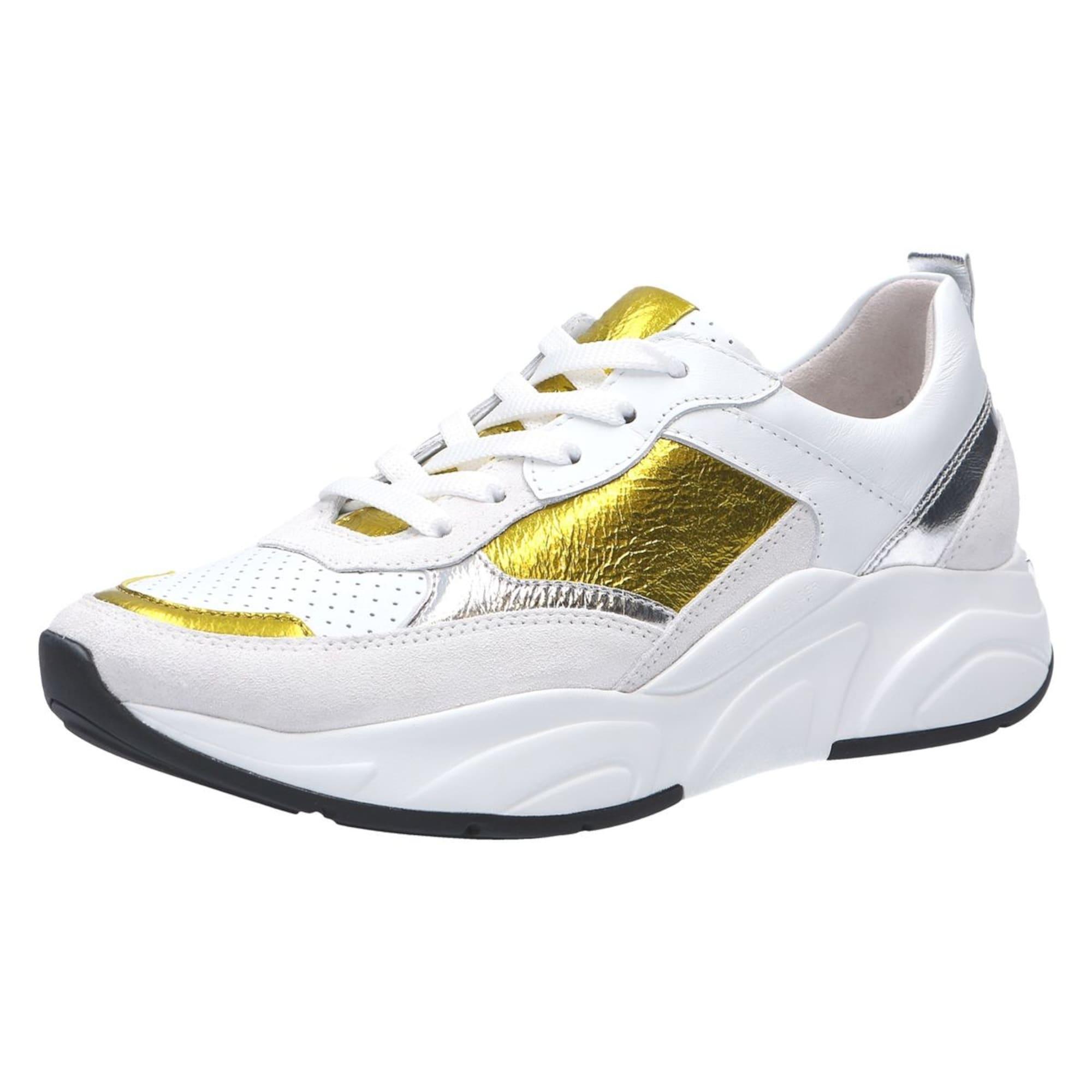 Tenisky Ultra zlatá stříbrná bílá Kennel & Schmenger