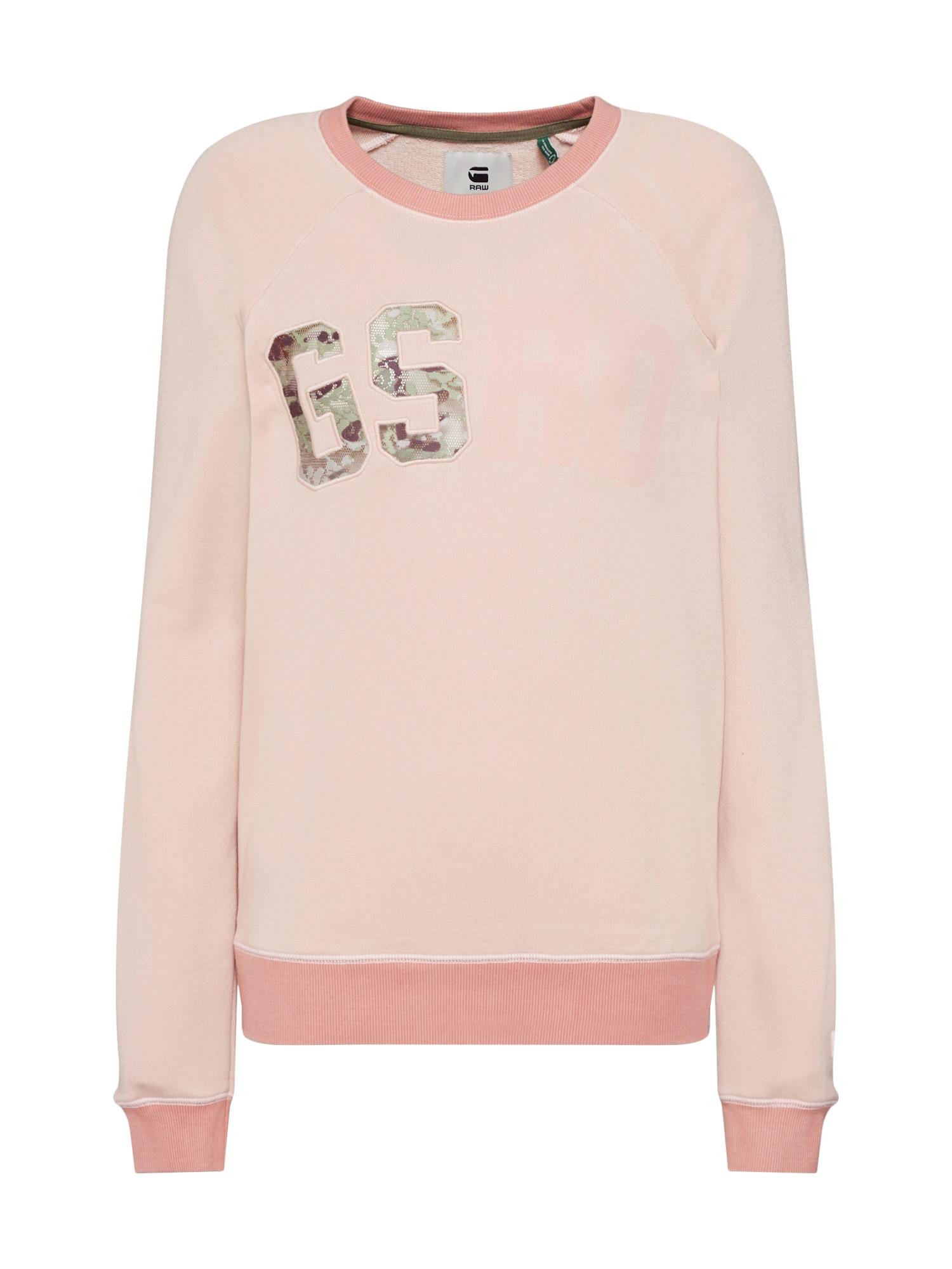 Mikina růžová G-STAR RAW