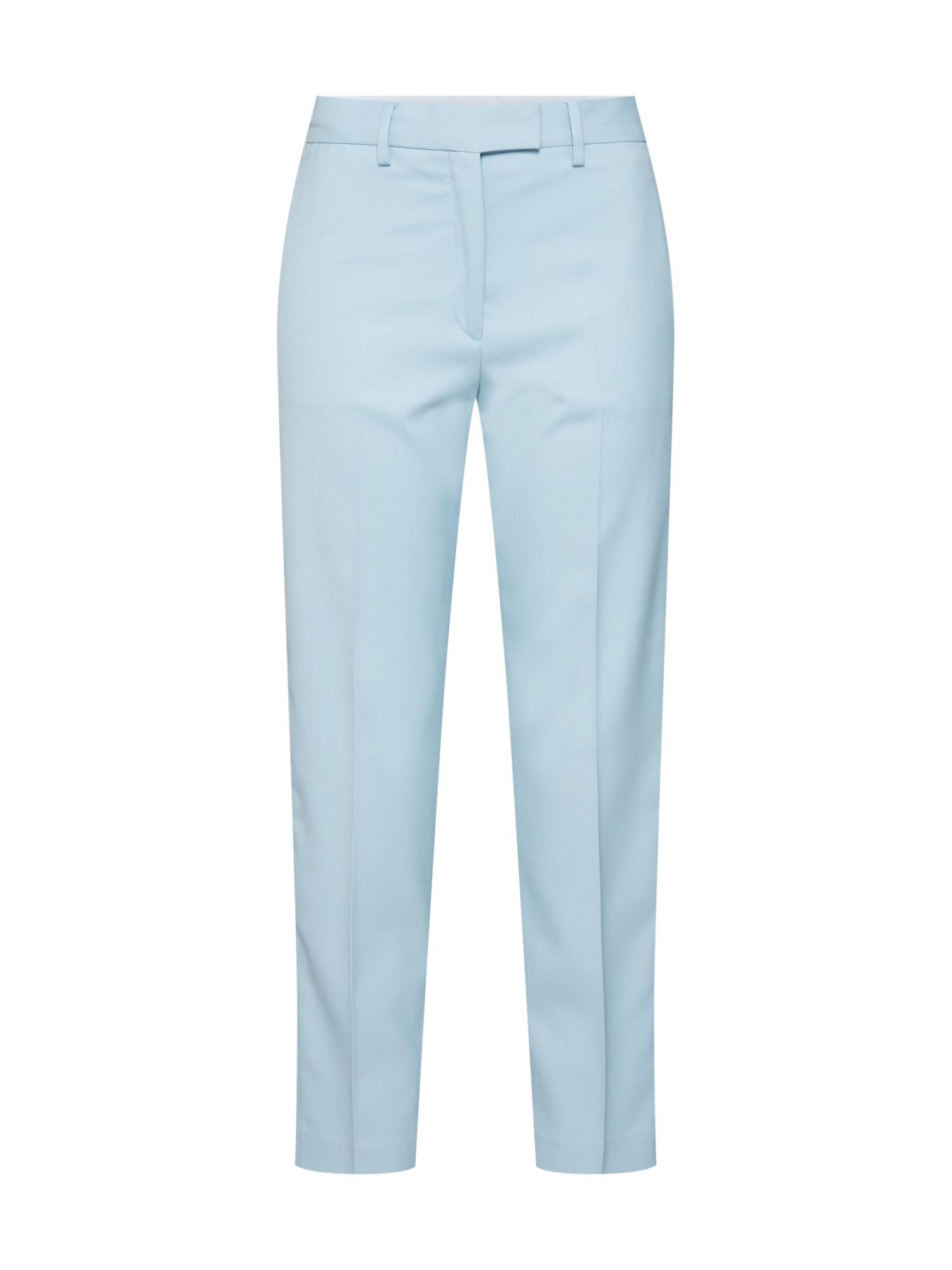 Kalhoty STP DETAIL PASTEL CIGARETTE PANT modrá Calvin Klein