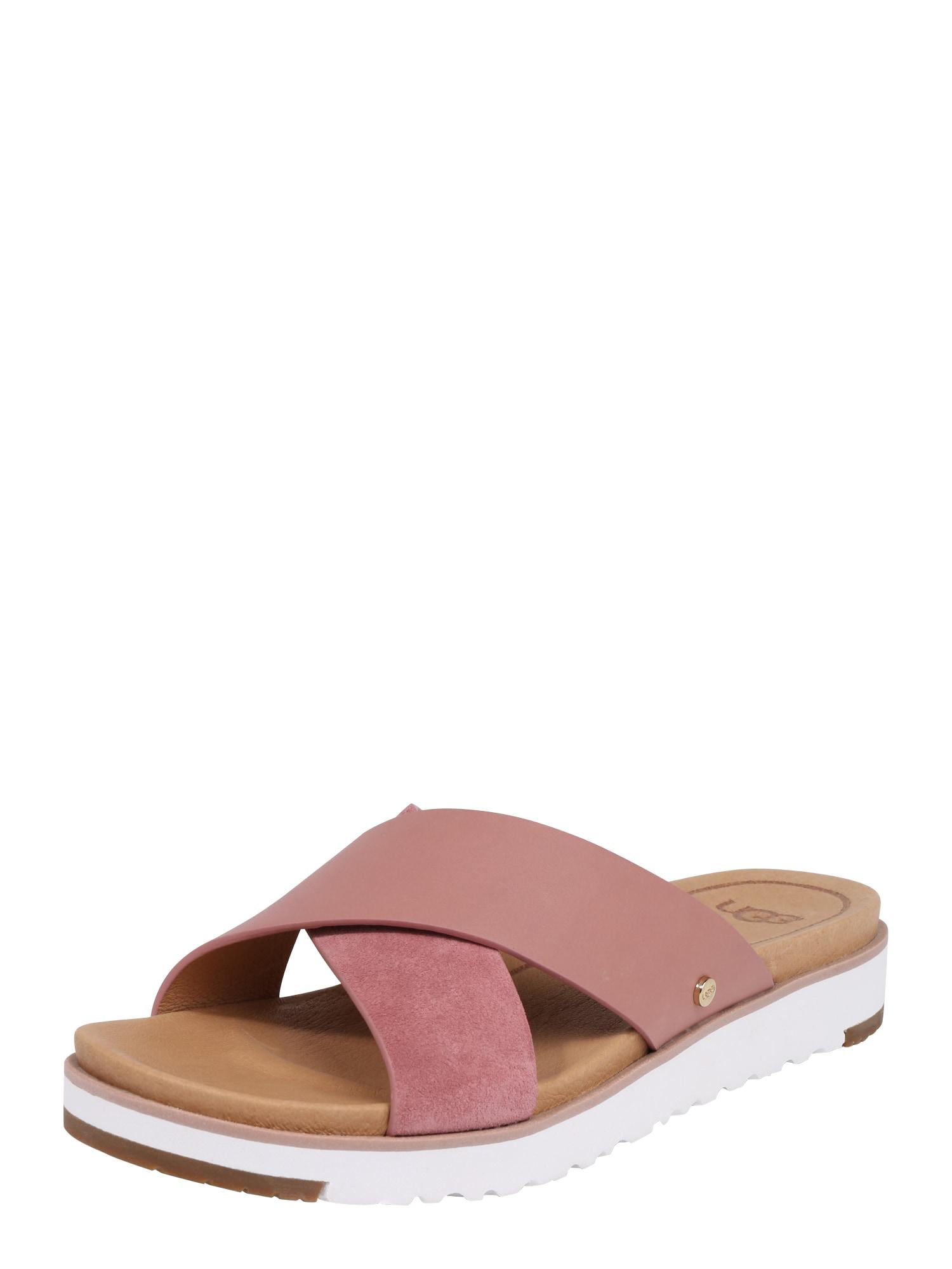 Pantofle Kari světle hnědá růžová UGG
