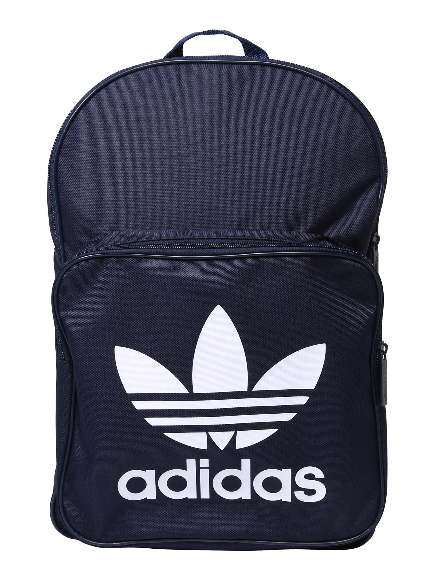Batoh Backpack Clas Trefoil marine modrá ADIDAS ORIGINALS