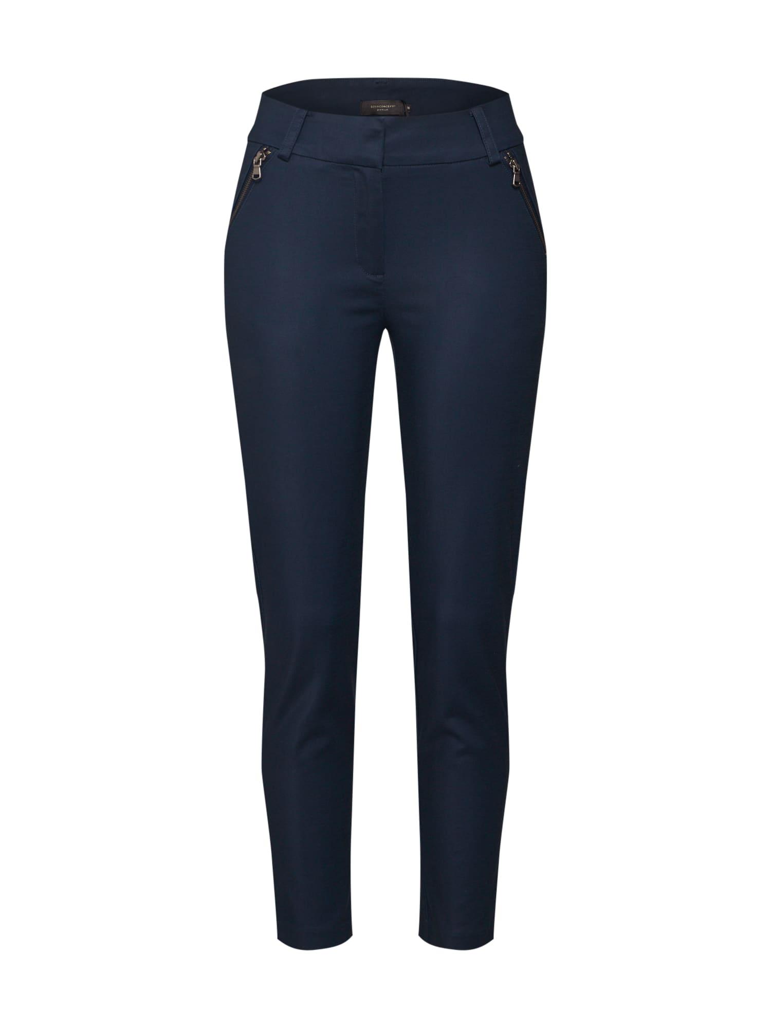 Kalhoty SC-SUSARA AN námořnická modř Soyaconcept