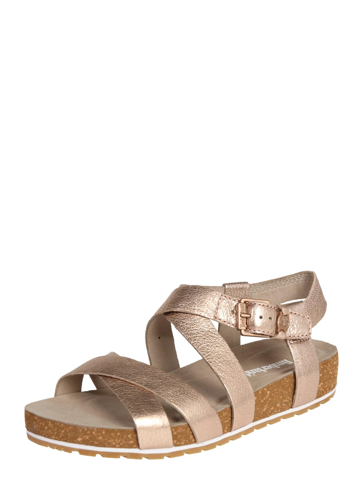 Páskové sandály Malibu Waves zlatá růže TIMBERLAND