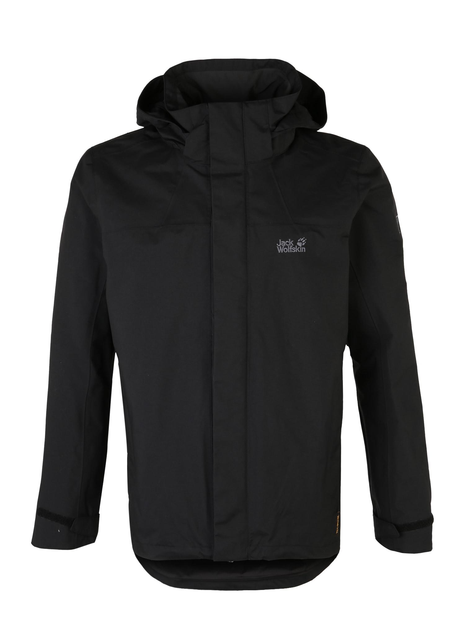 Outdoorová bunda HIGHLAND černá JACK WOLFSKIN