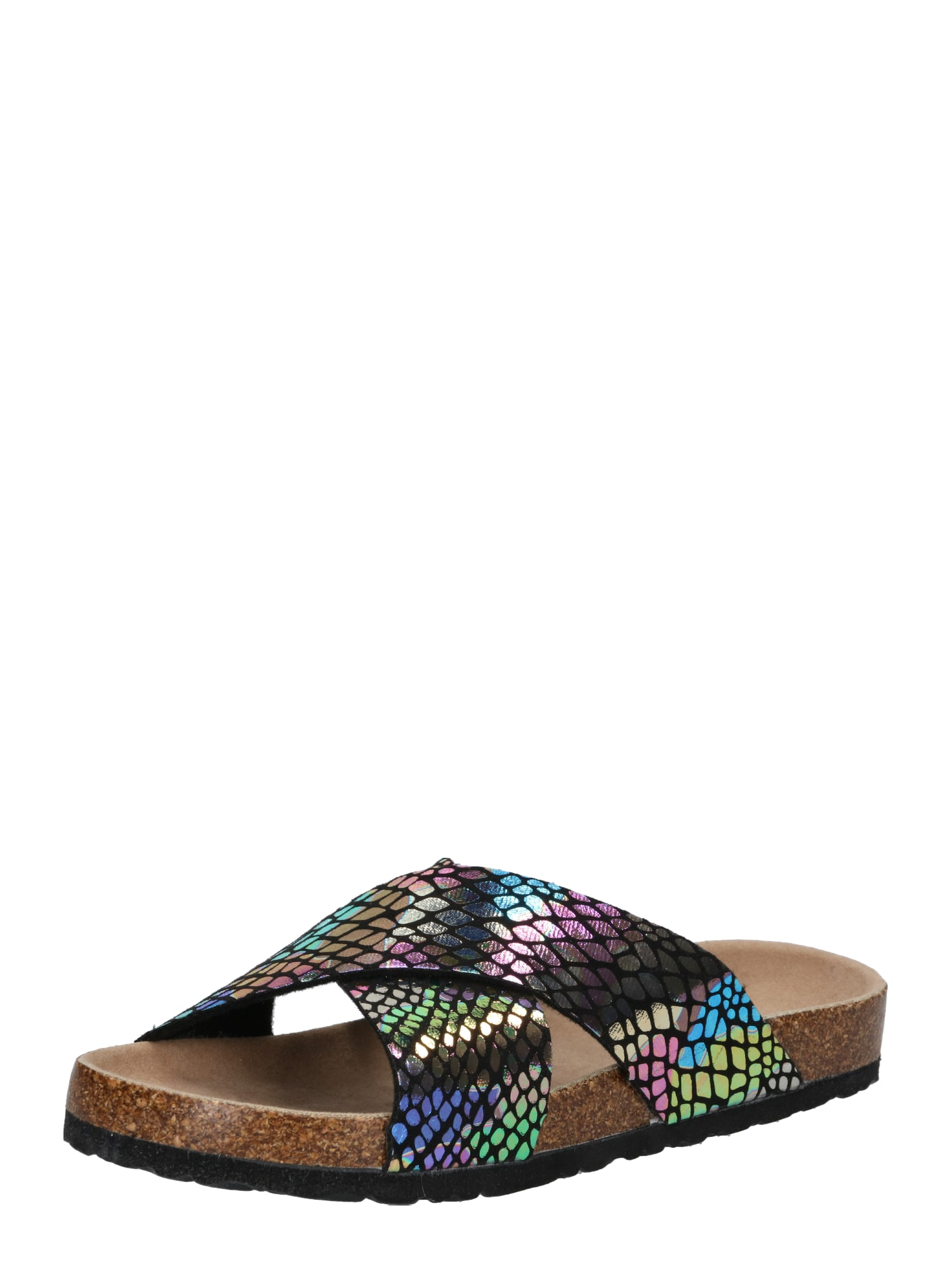 Pantofle SAMIRA mix barev Lost Ink