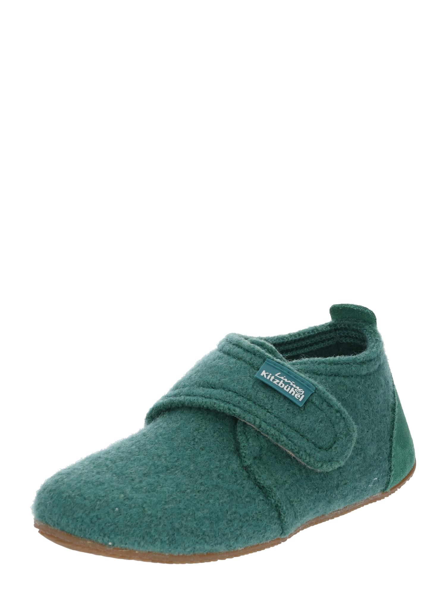 Pantofle zelená Living Kitzbühel