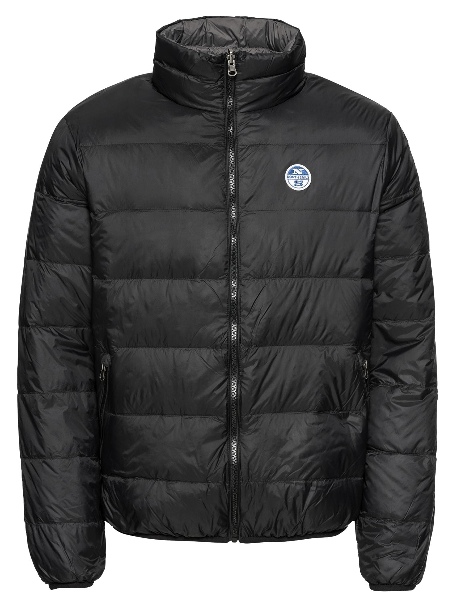 Zimní bunda REVERSIBLE JACKET šedá černá North Sails
