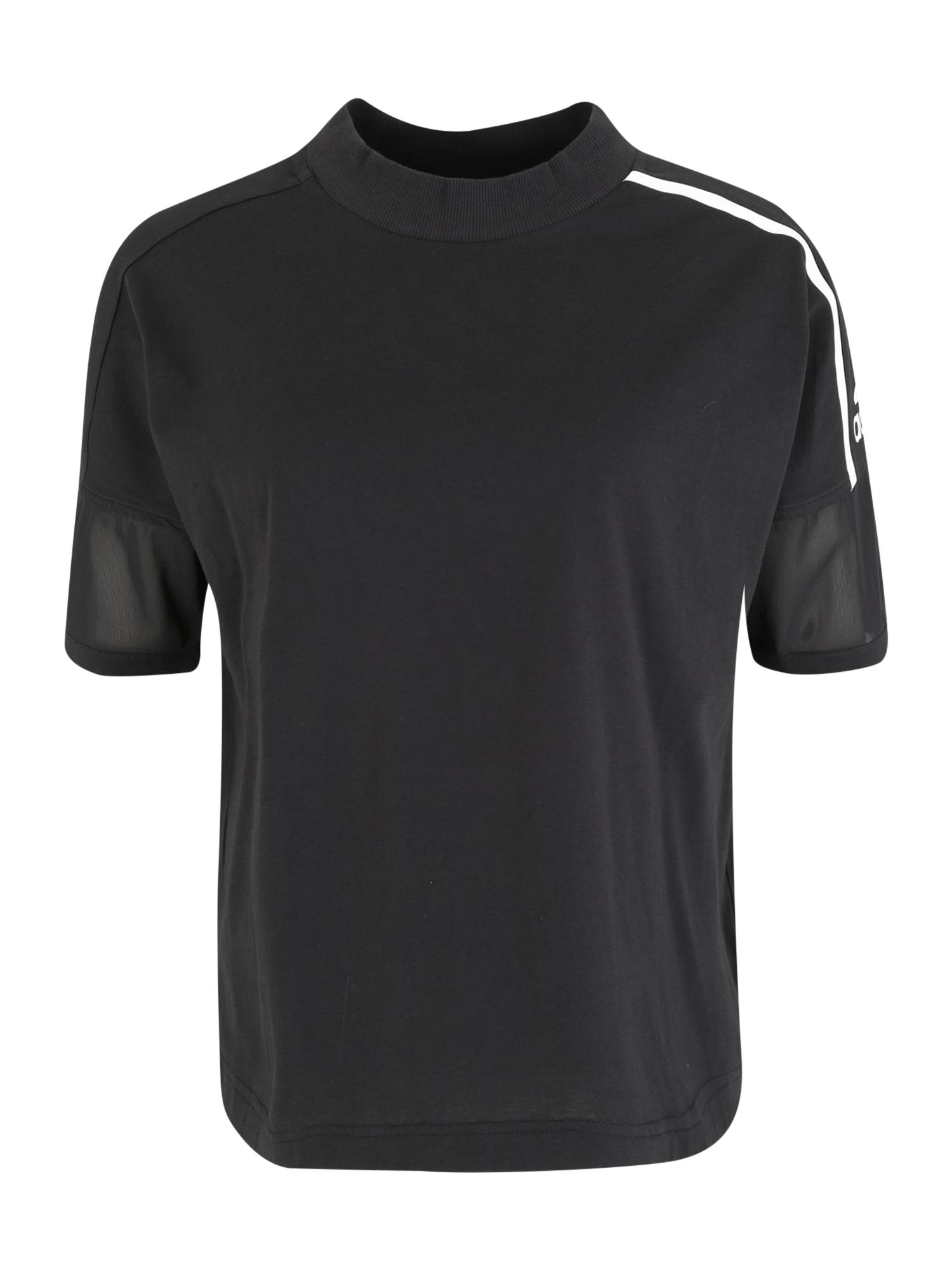 Funkční tričko W Zne Tee černá ADIDAS PERFORMANCE