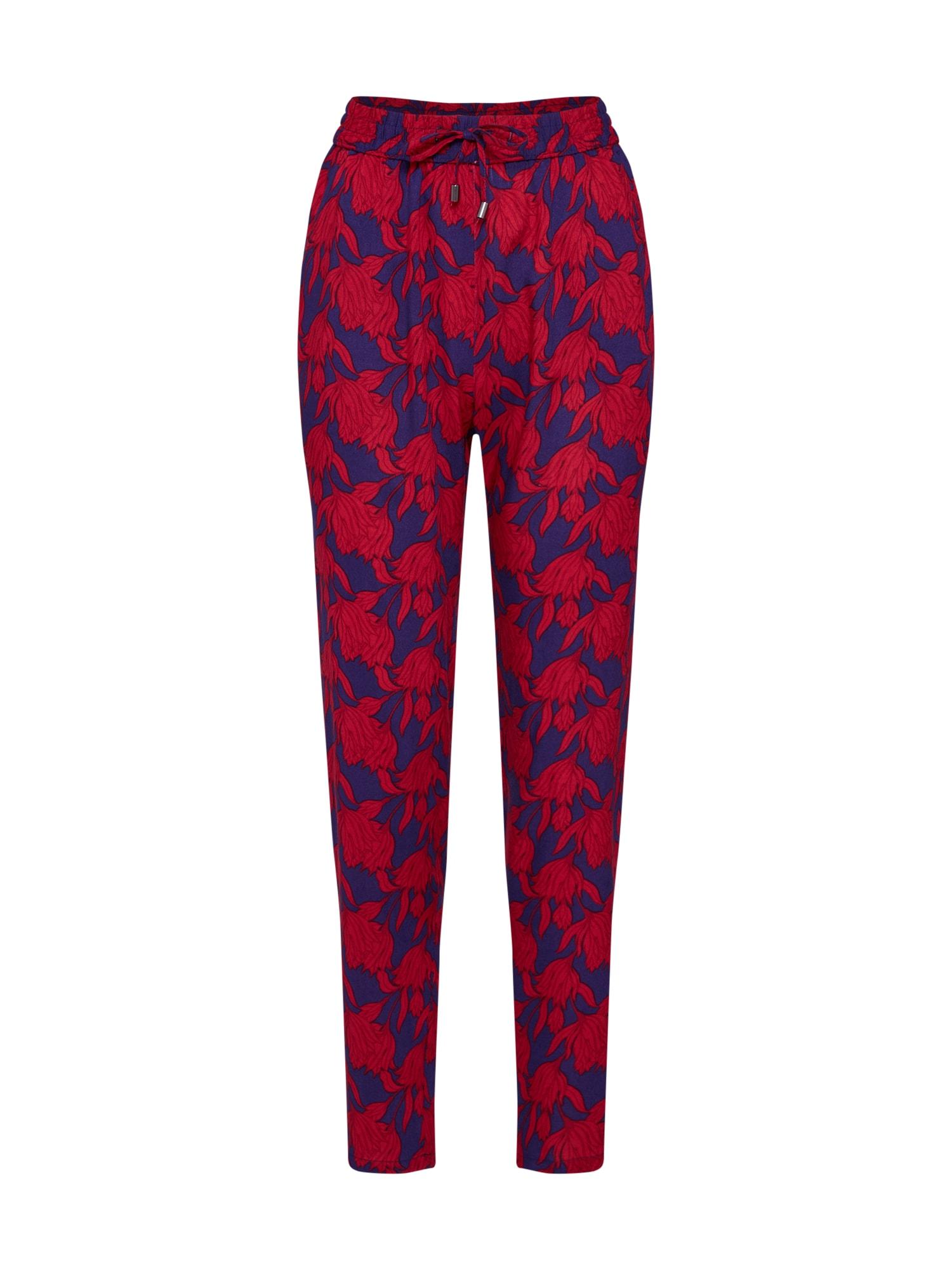 Kalhoty modrá červená Sublevel