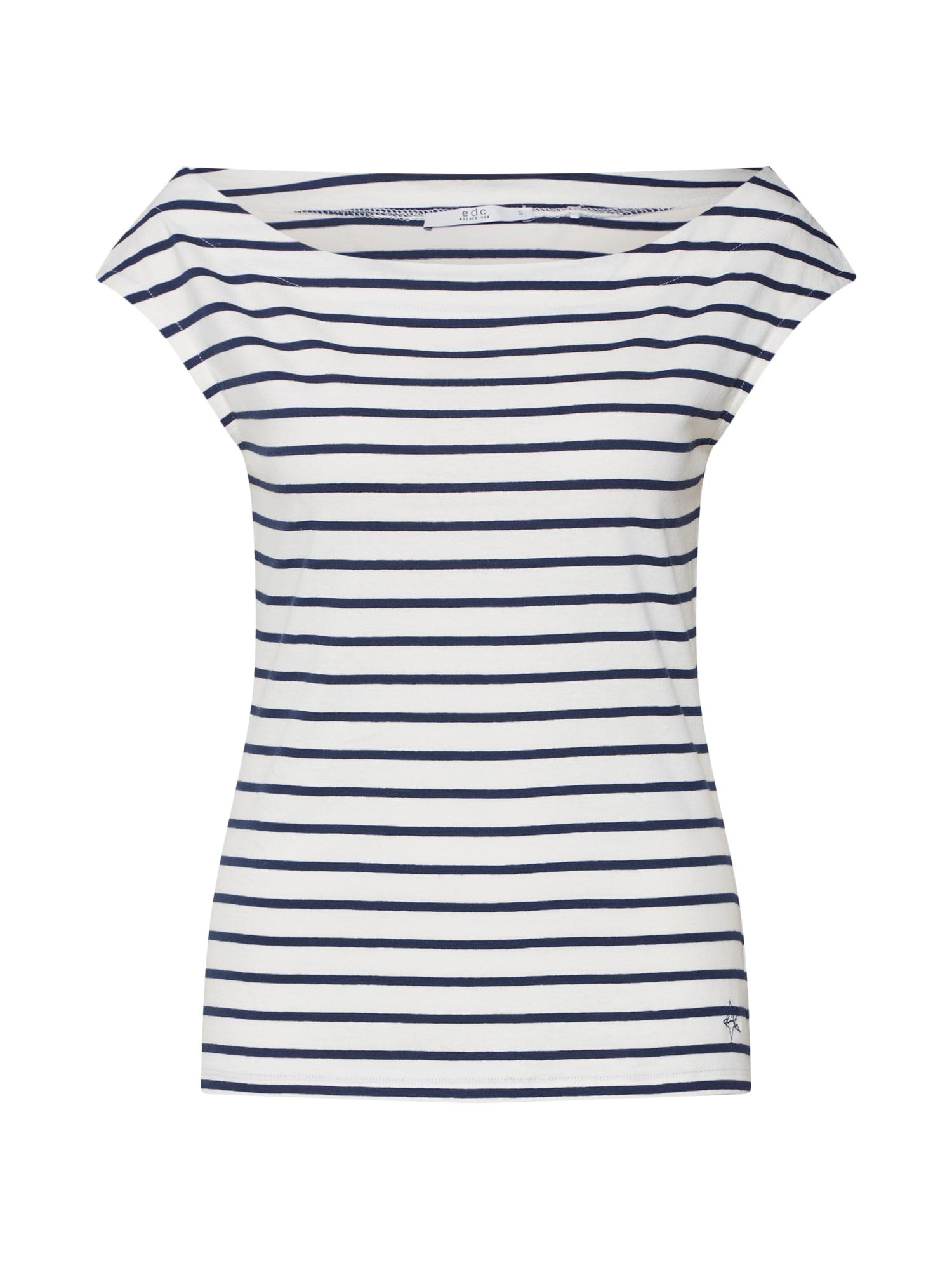 Tričko Co EL Carmen námořnická modř EDC BY ESPRIT