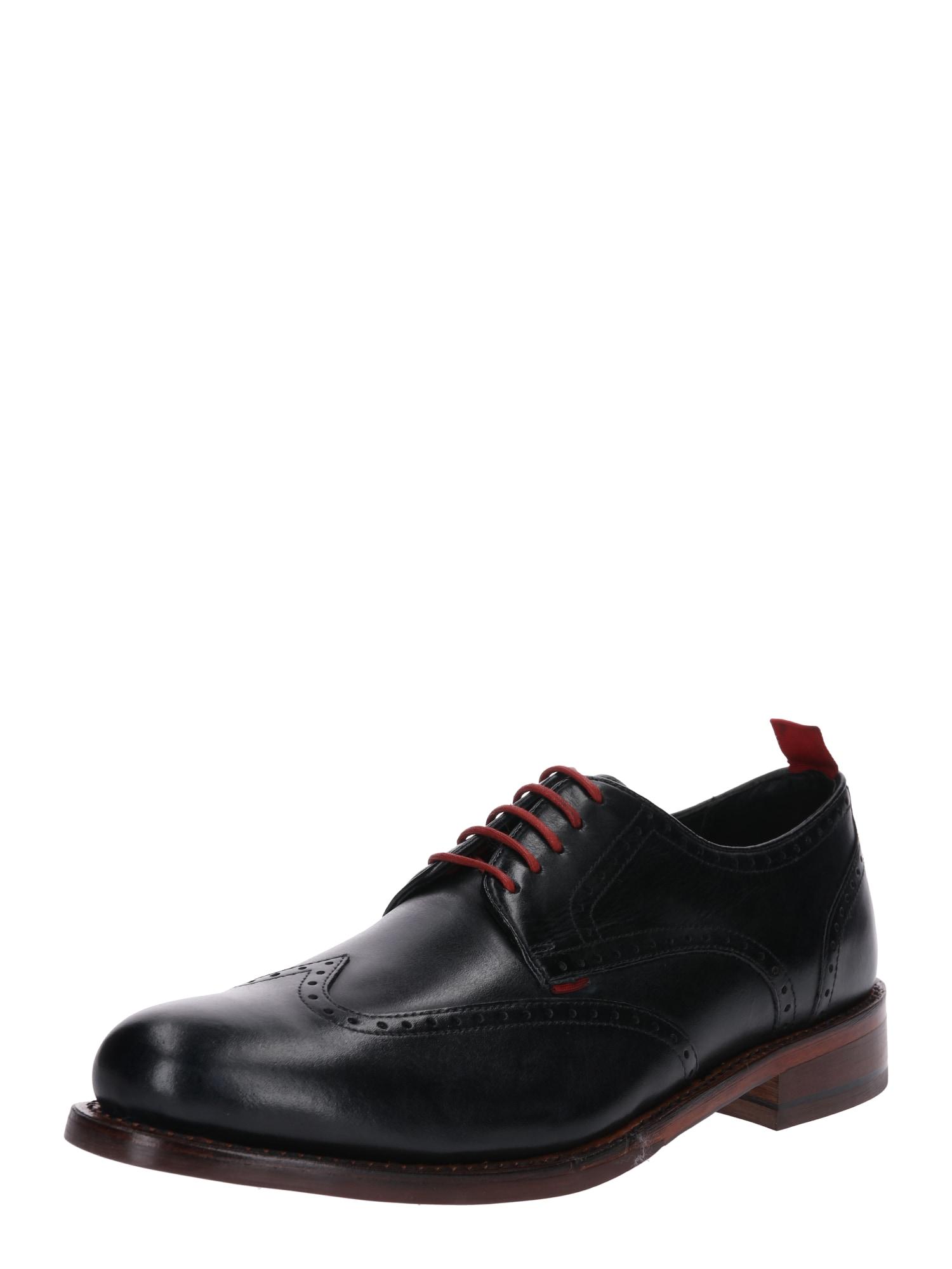 Šněrovací boty LEVET námořnická modř Gordon & Bros