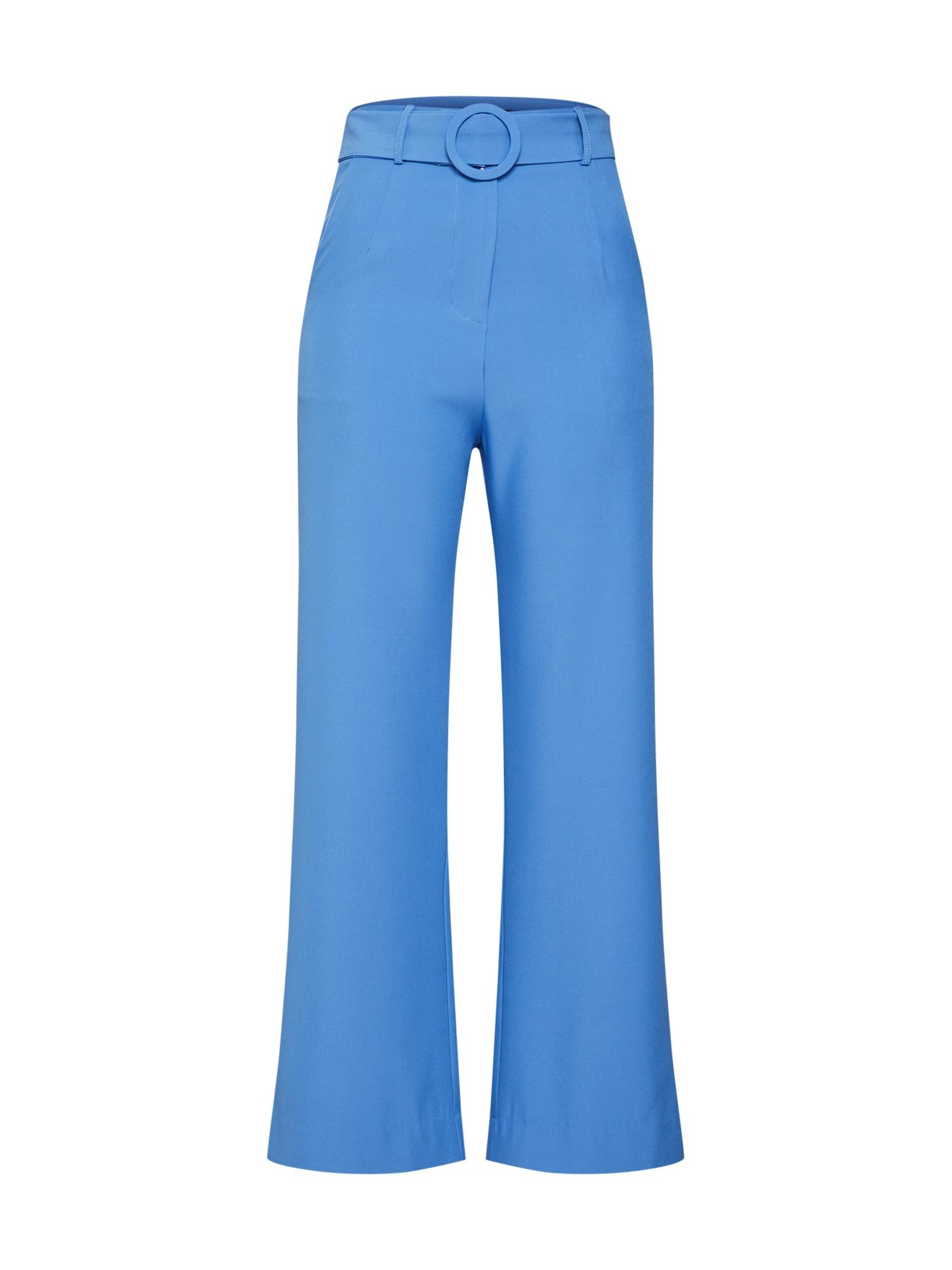 Kalhoty Zonita modrá Fashion Union