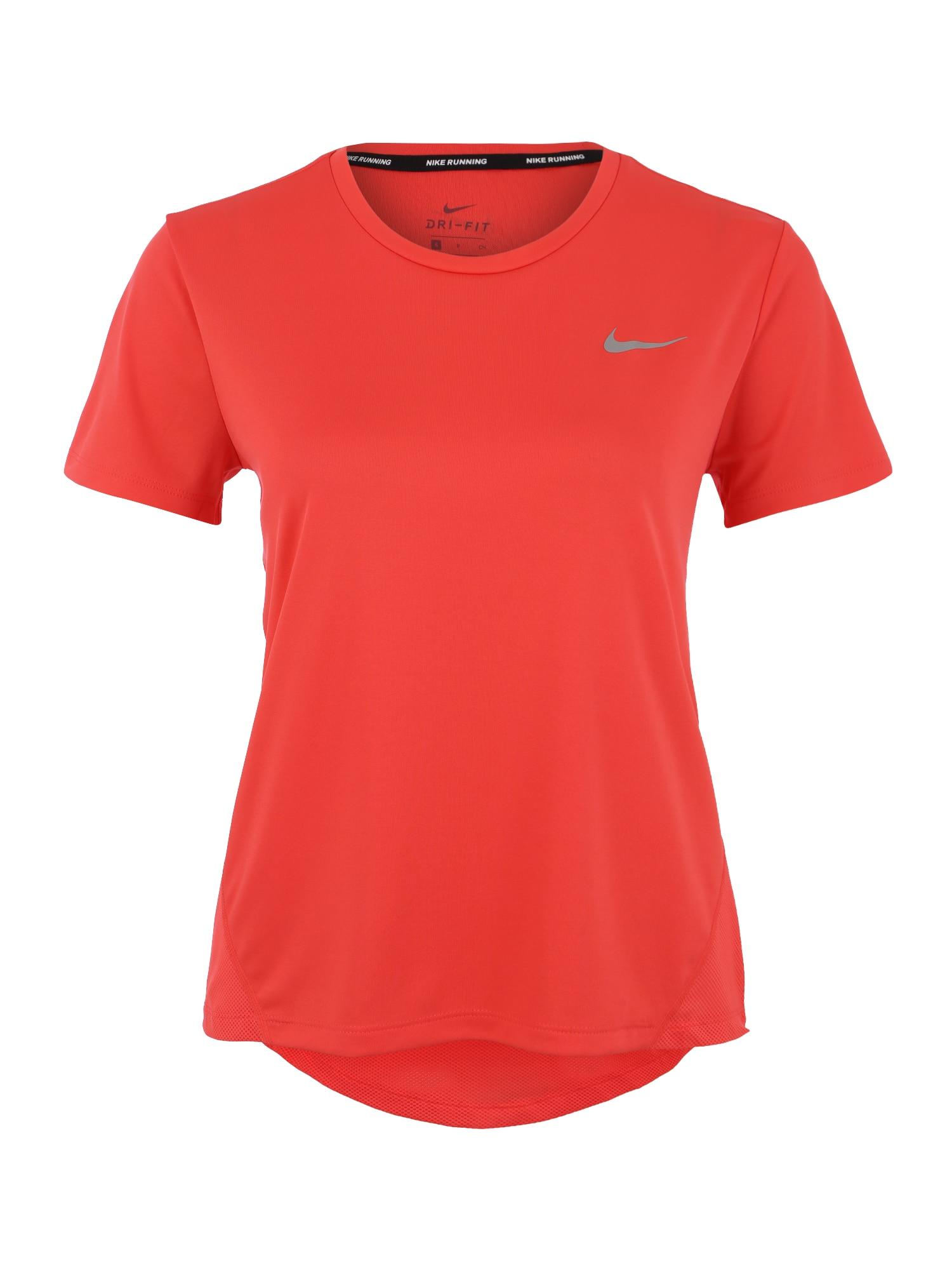 Funkční tričko MILER ohnivá červená NIKE