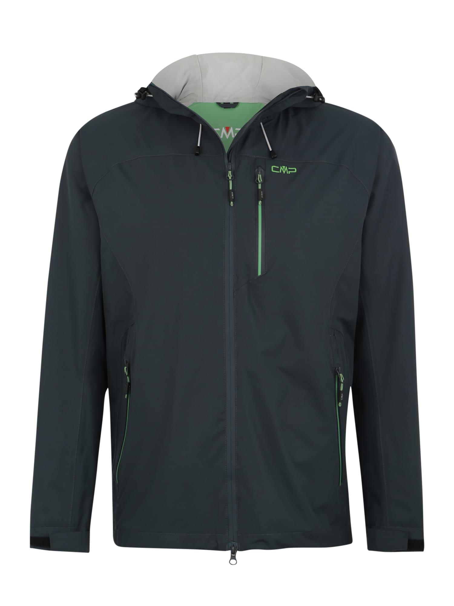 Sportovní bunda tmavě zelená CMP