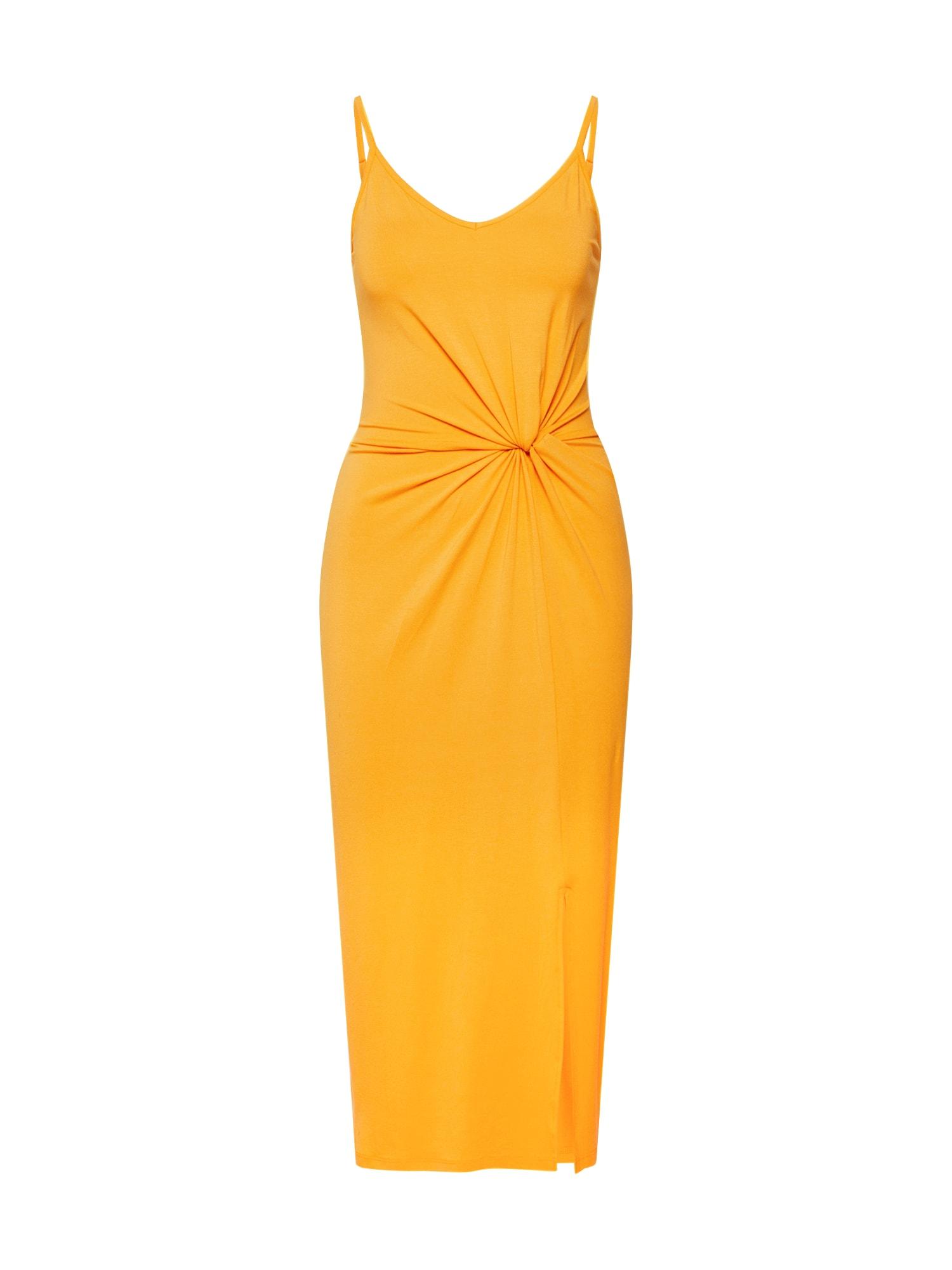 Šaty Maxine žlutá EDITED
