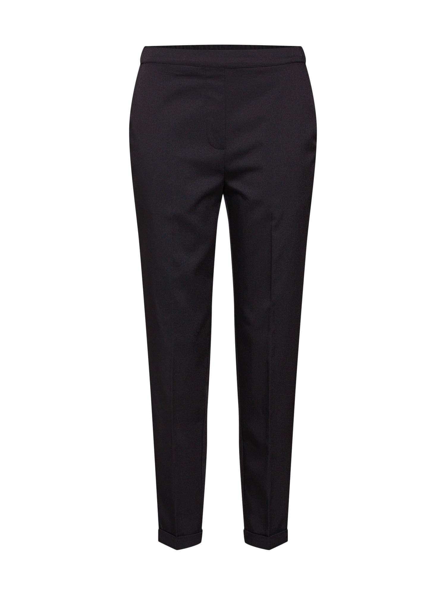 Kalhoty s puky Louisa černá ABOUT YOU