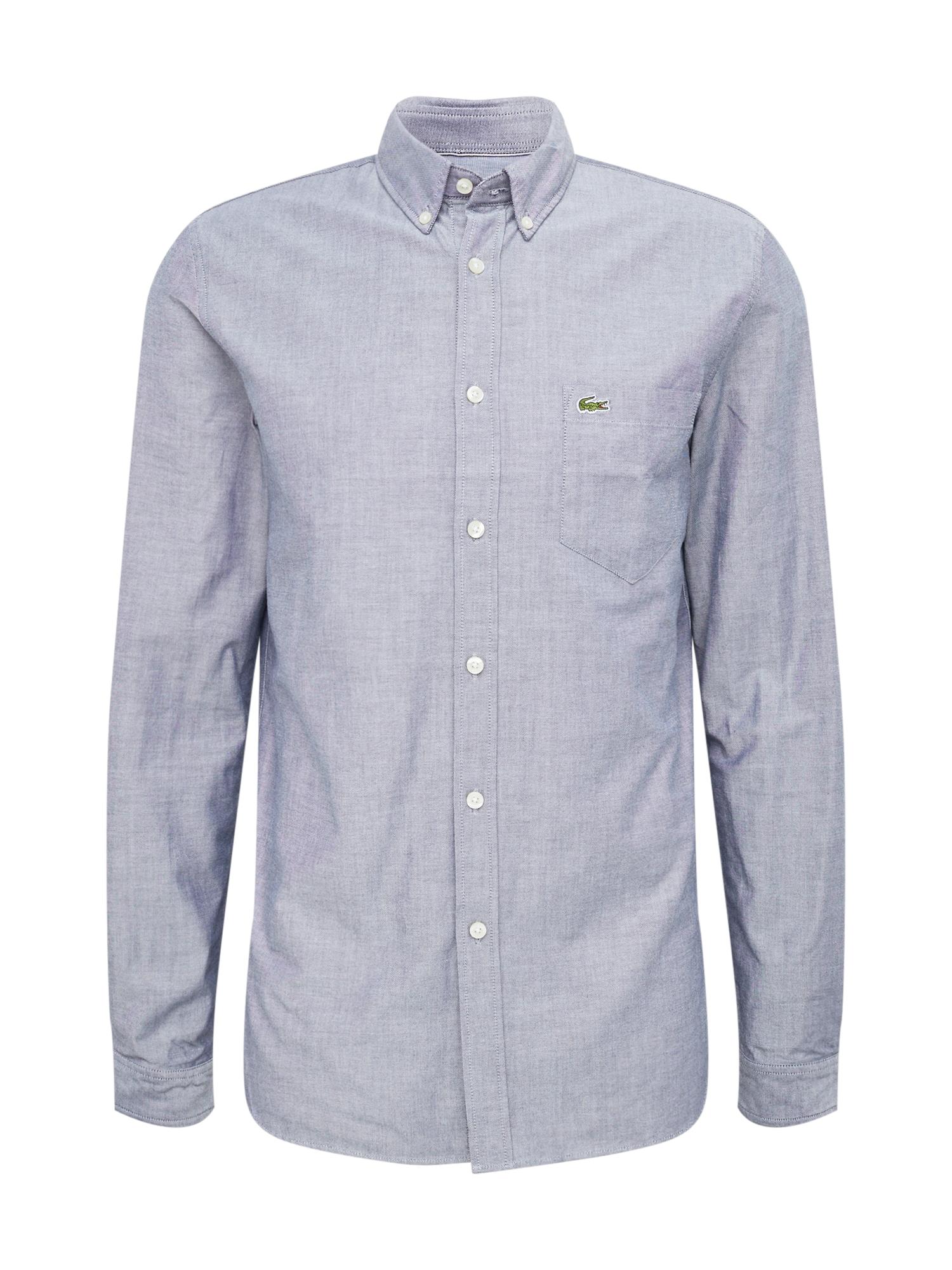 Košile marine modrá LACOSTE
