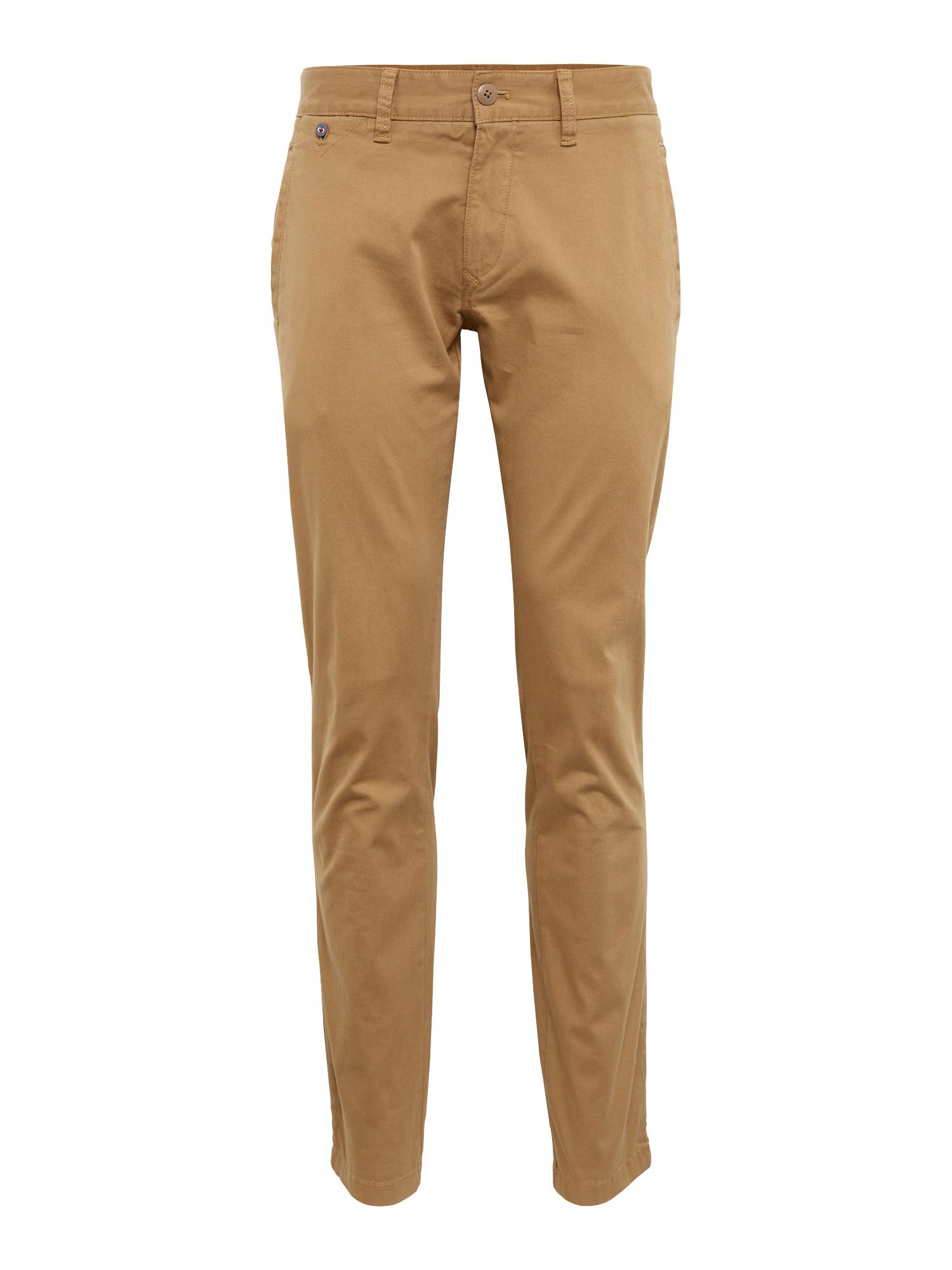 Chino kalhoty TJM ORIGINAL SLIM FIT béžová Tommy Jeans