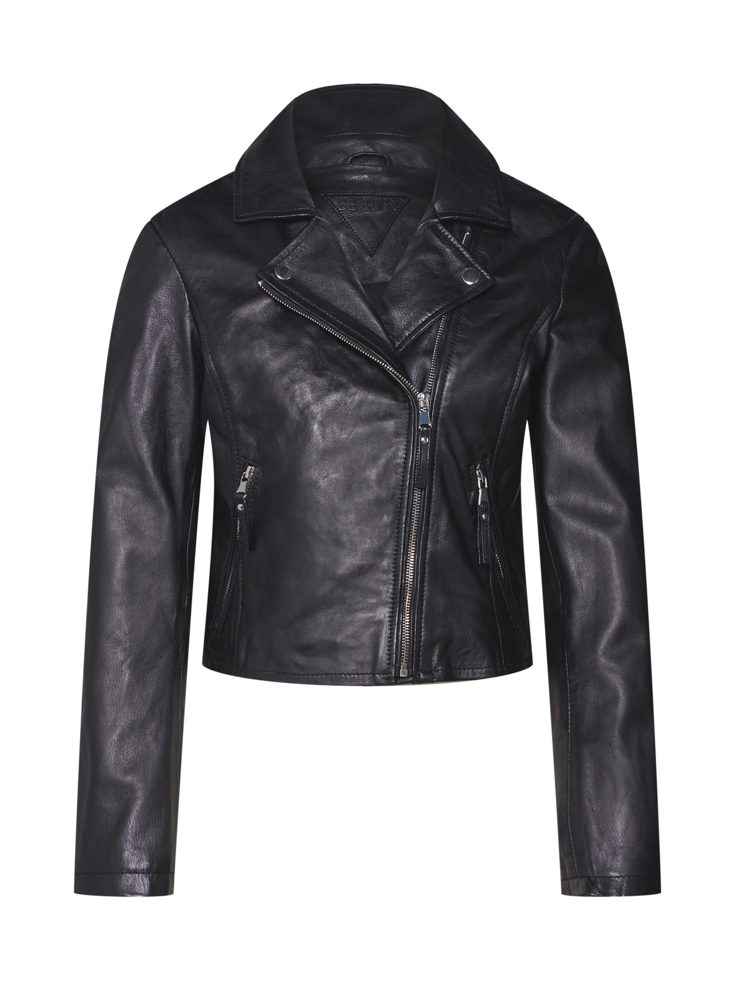 Přechodná bunda BEmia černá BE EDGY