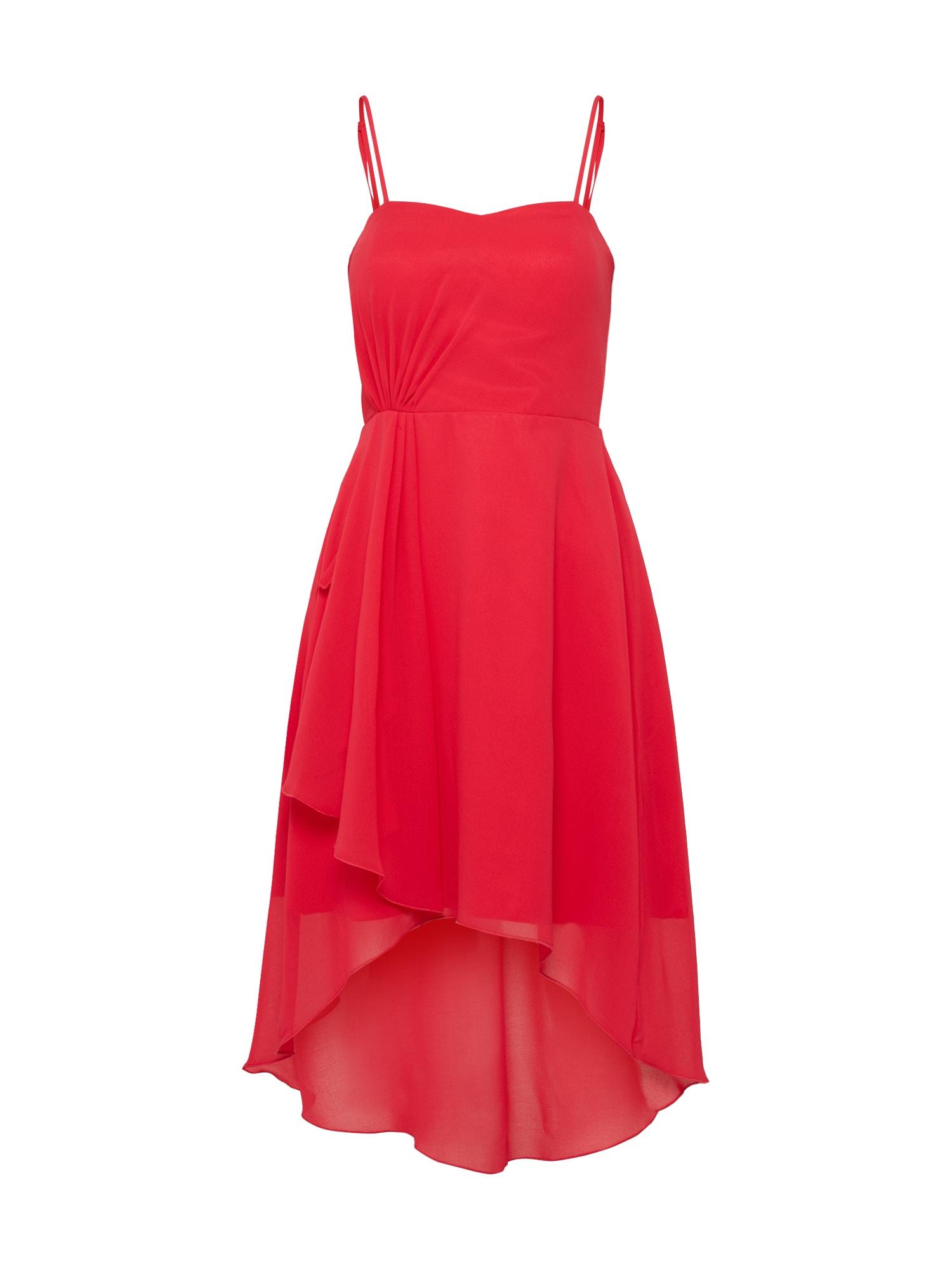 Šaty červená SUDDENLY Princess