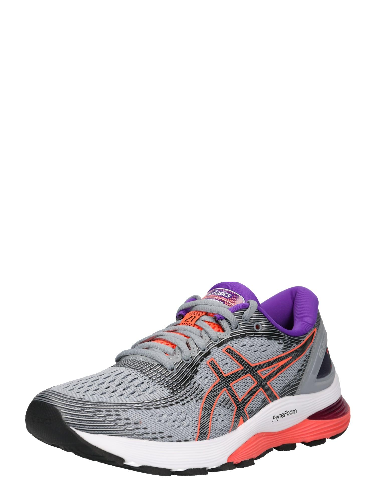 Sportovní boty GEL-NIMBUS 21 tmavě šedá červená ASICS