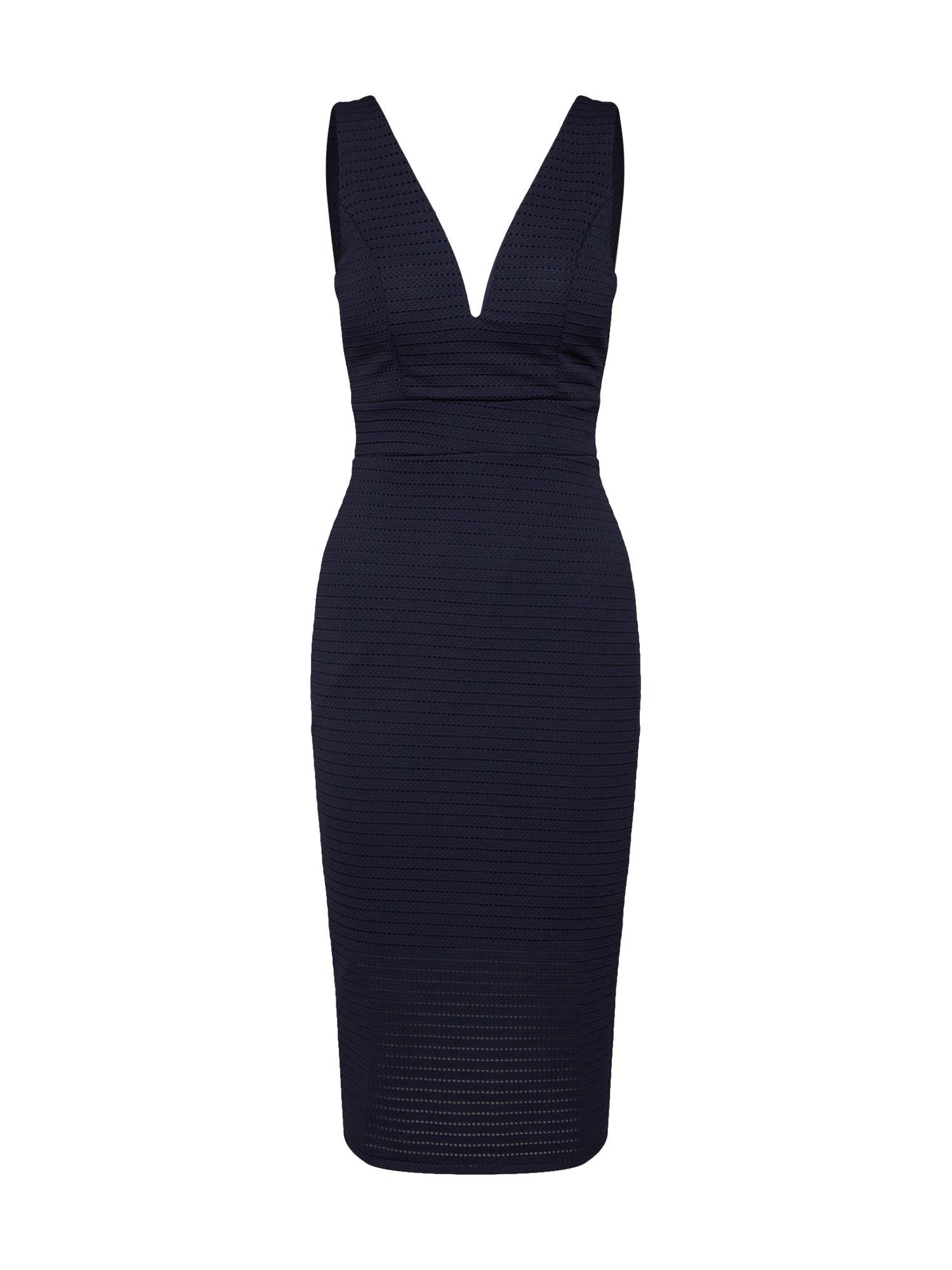 Koktejlové šaty WG 7264 námořnická modř WAL G.