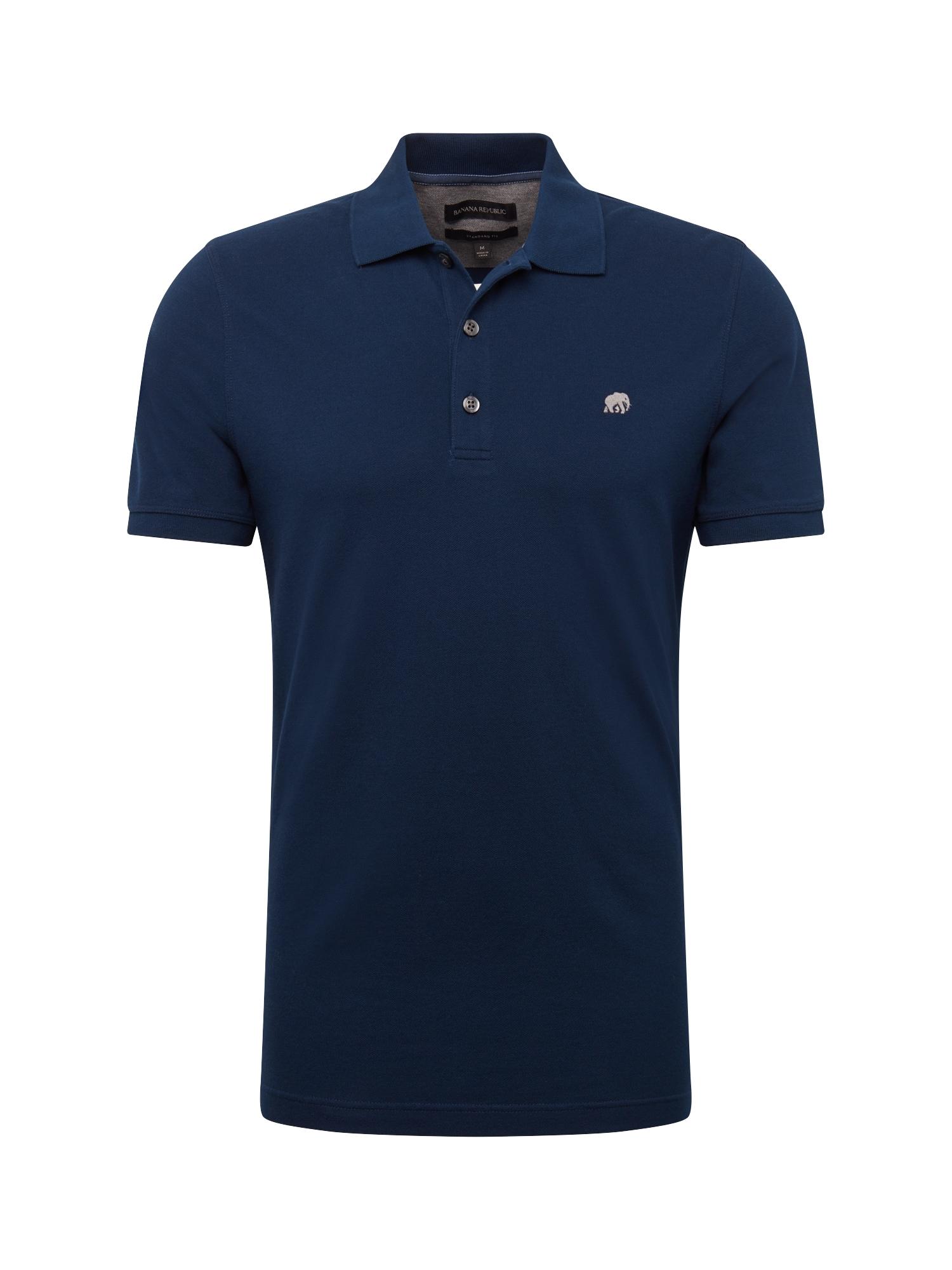 Tričko ST Branded Pique Polo Basics námořnická modř Banana Republic