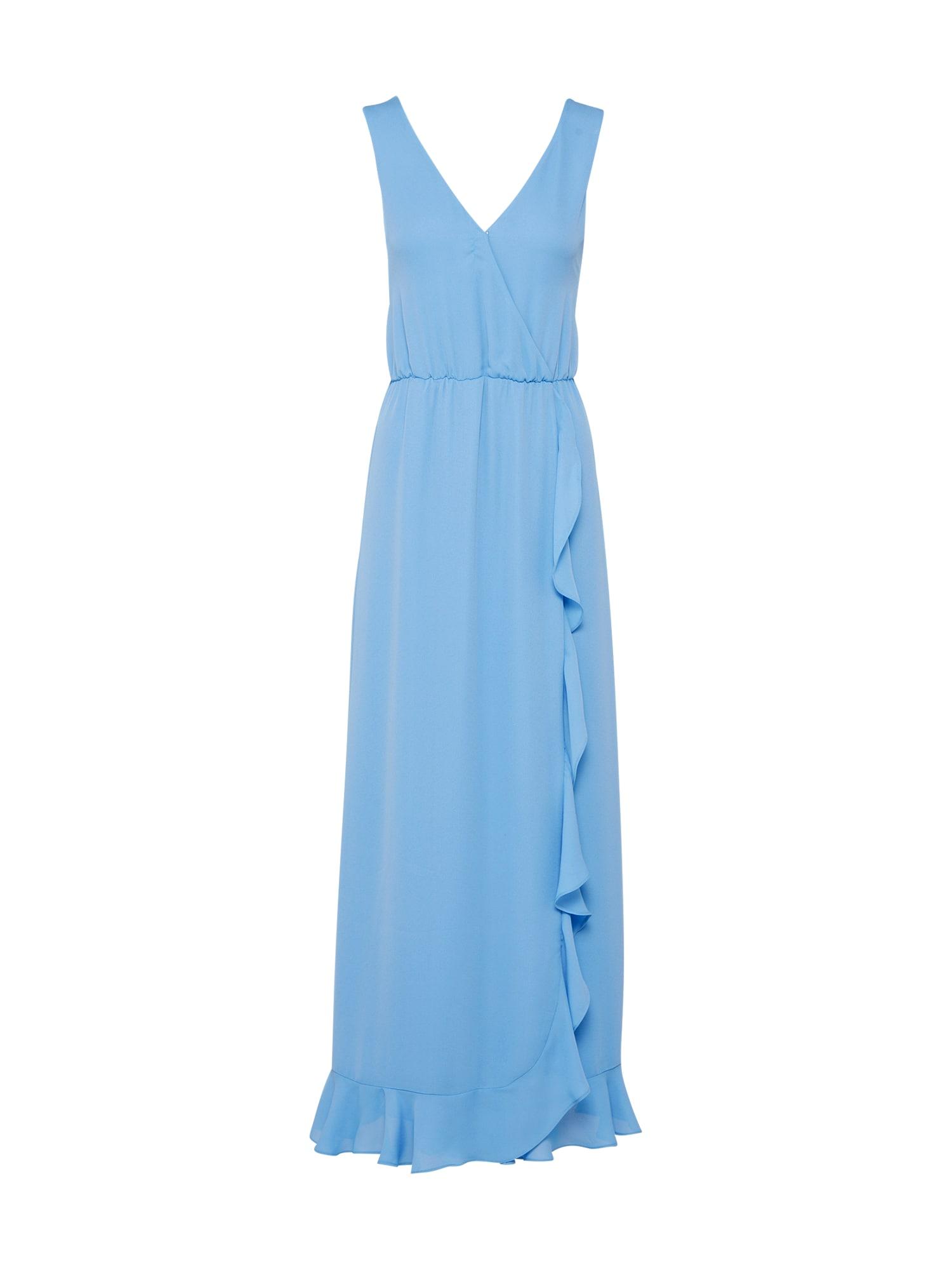 Koktejlové šaty Limon l dress 6891 světlemodrá Samsoe & Samsoe