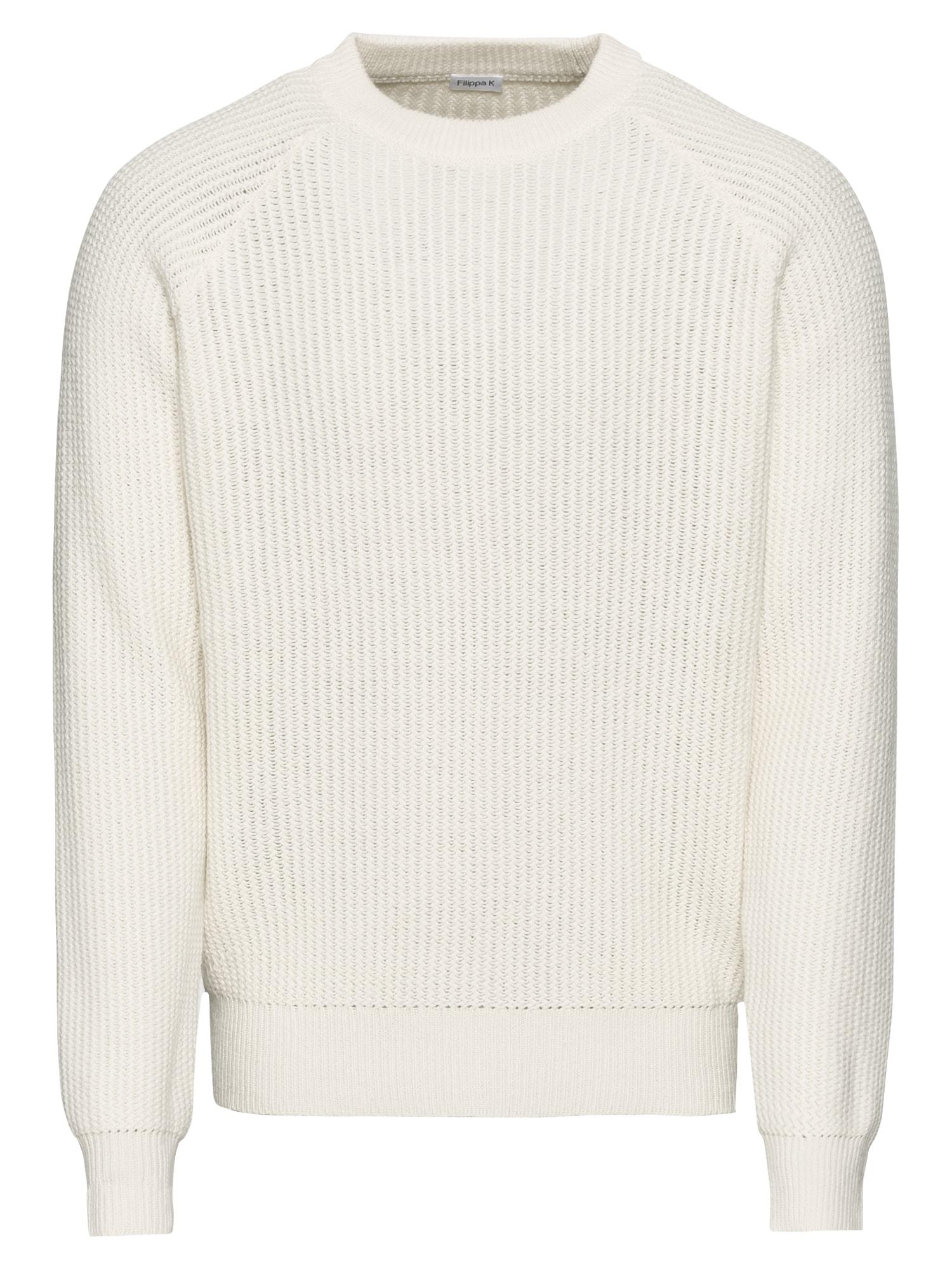 Svetr M. Wave Stitch Sweater offwhite Filippa K