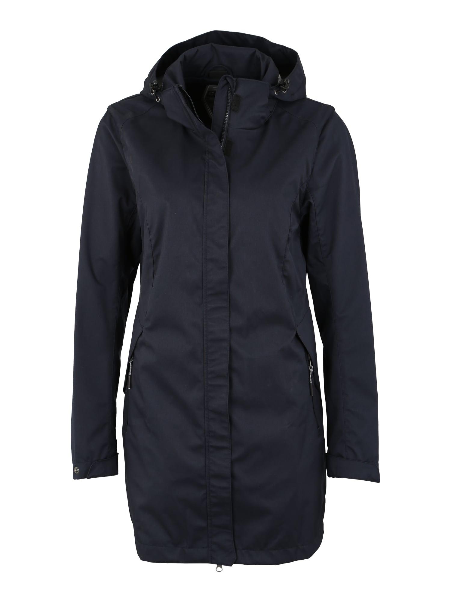 Outdoorový kabát Tylla tmavě modrá KILLTEC