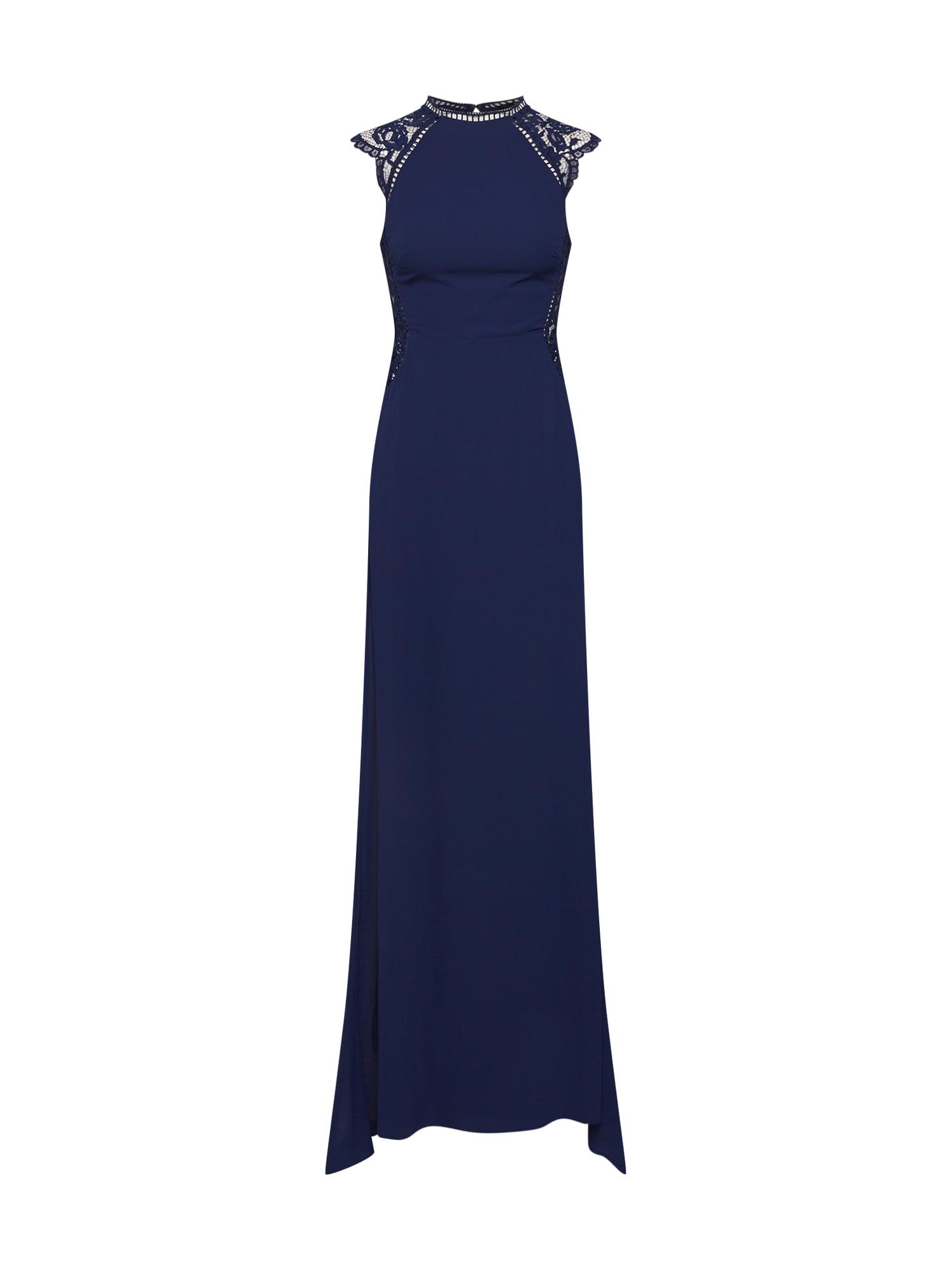 TFNC Společenské šaty 'ANEK MAXI'  námořnická modř