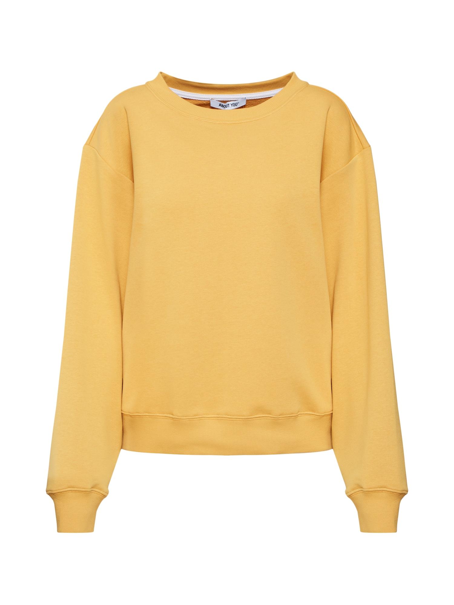 ABOUT YOU, Dames Sweatshirt 'Emma', geel